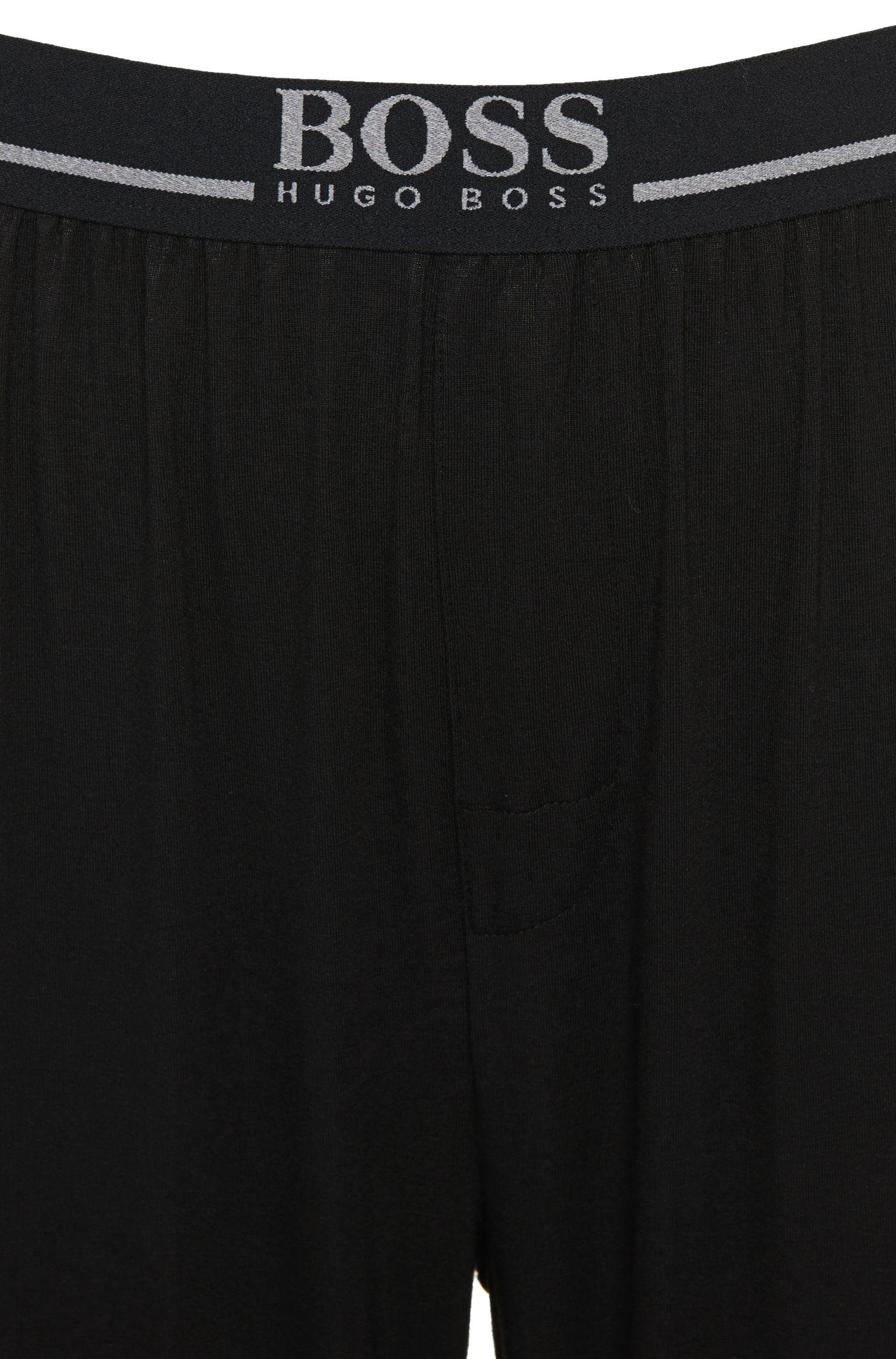 Pantalon de jogging en modal mélangé extensible: «Long Pant EW»