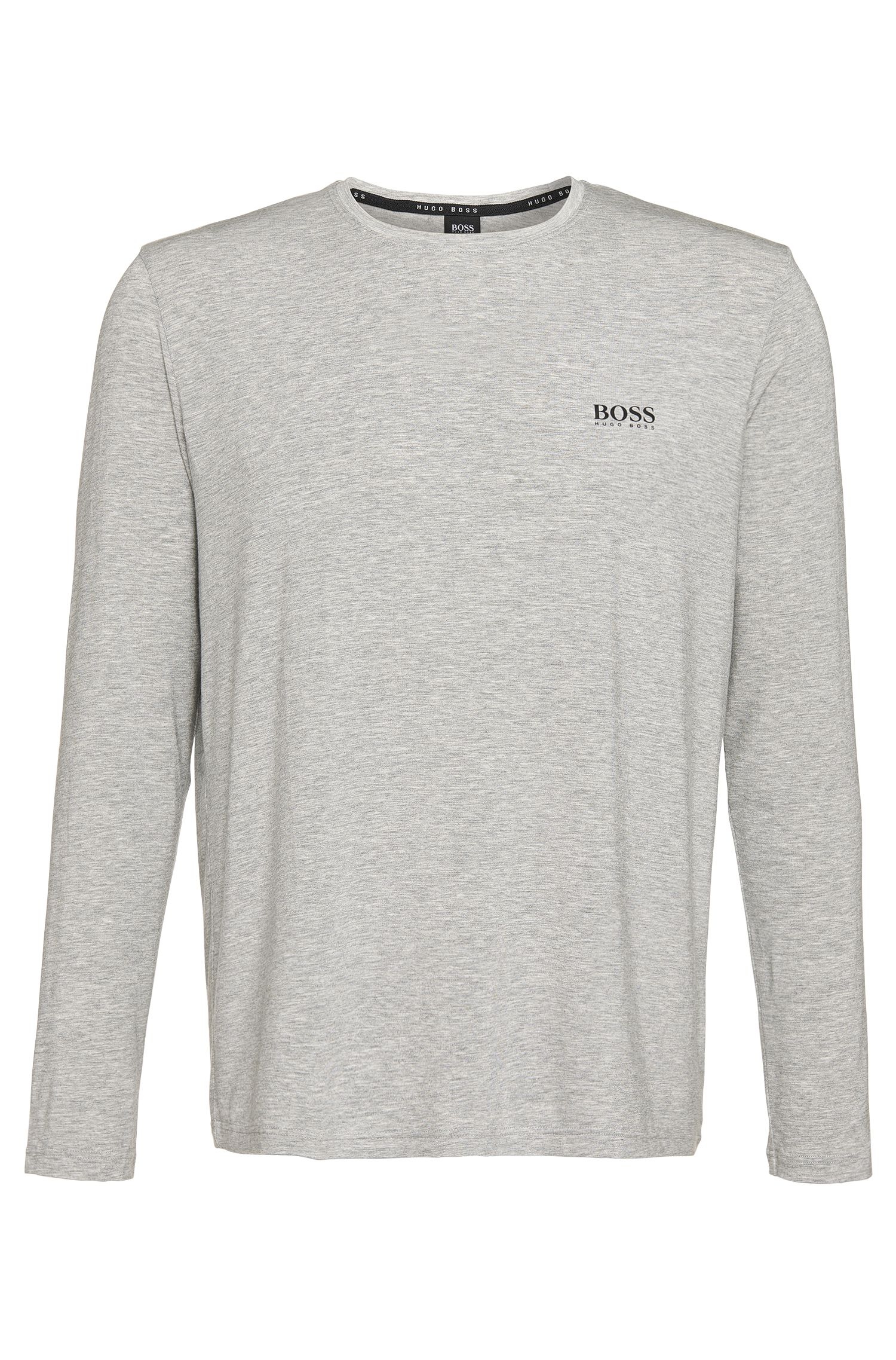 T-shirt à manches longues en modal mélangé extensible: «Shirt RN SS»