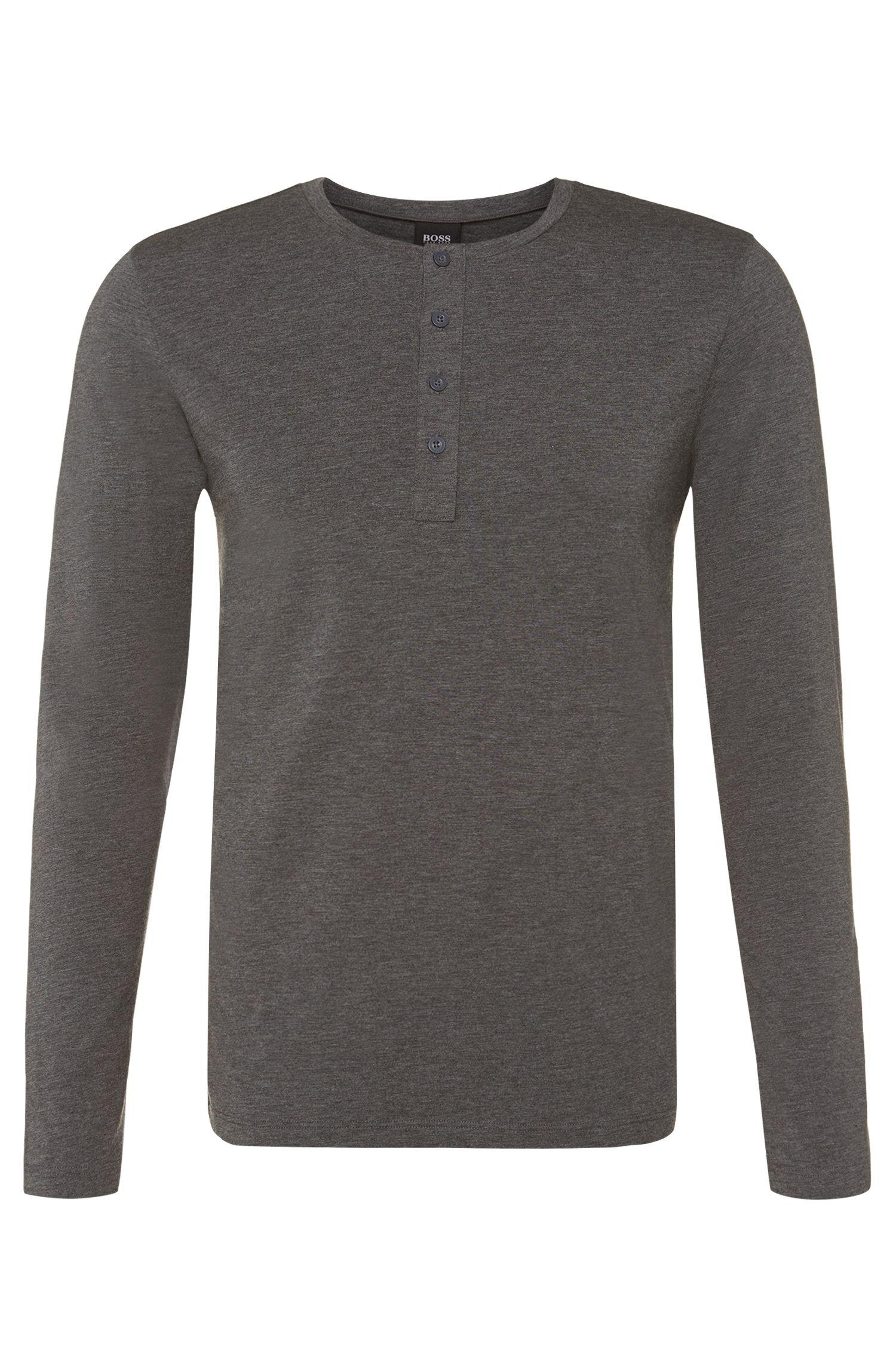 Longsleeve van een katoenmix: 'Shirt LSBP Balance'