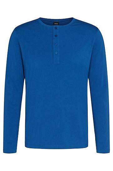 Longsleeve aus Baumwoll-Mix: 'Shirt LSBP Balance', Blau