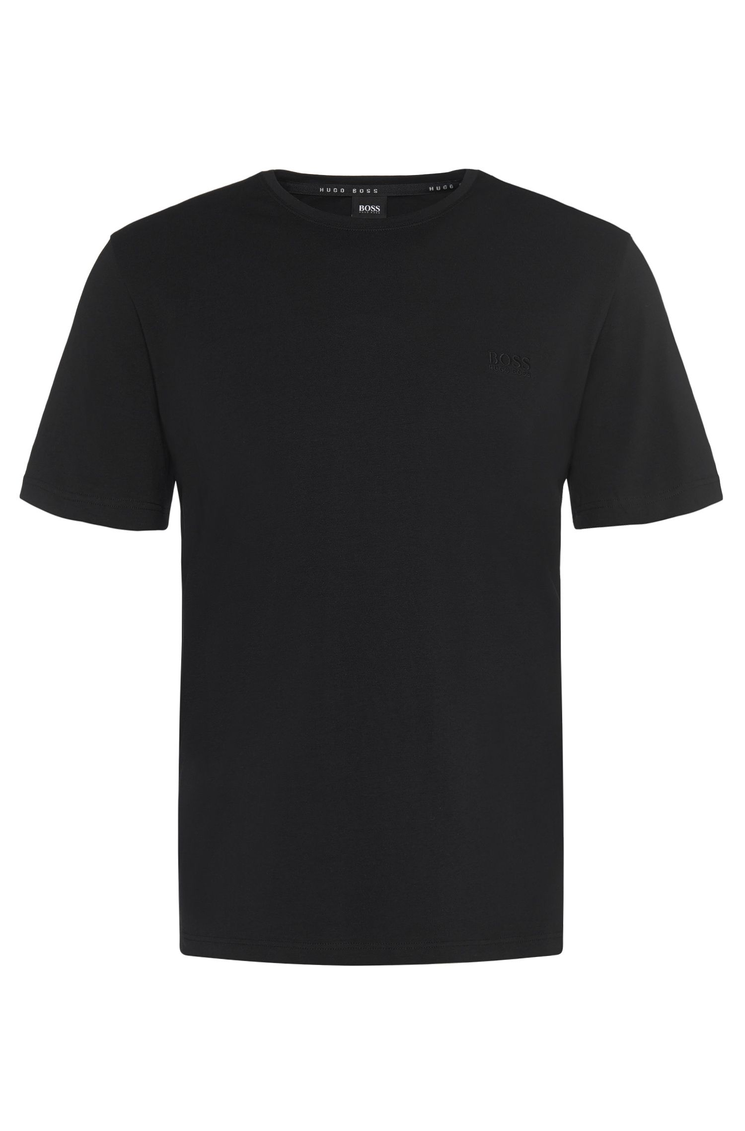 T-shirt in stretch cotton blend 'Shirt RN'