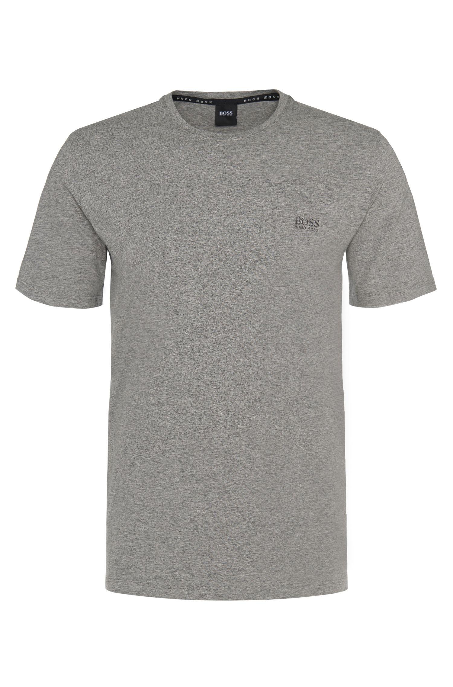 T-shirt regular fit per il tempo libero in jersey di cotone elasticizzato by BOSS Uomo