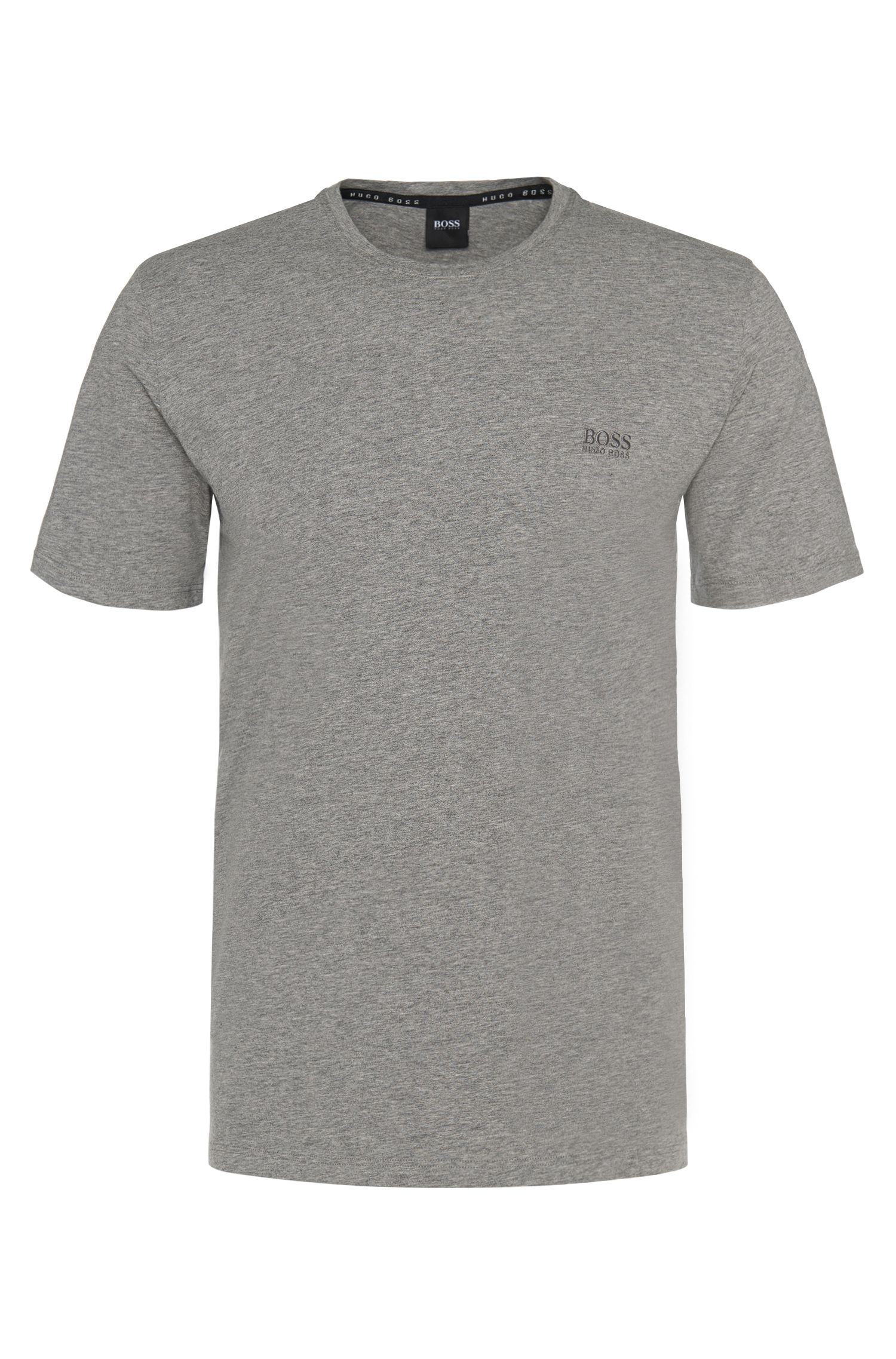 Regular-fit loungewear-T-shirt van BOSS Menswear van katoenen jersey met stretch
