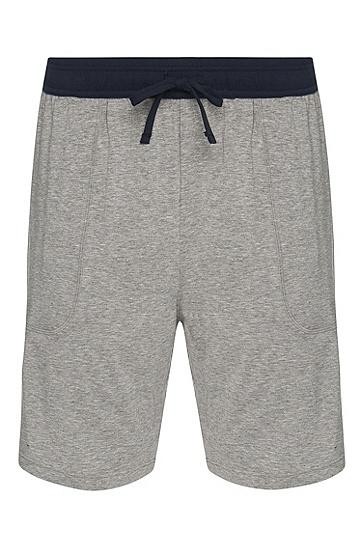 Pyjamashorts aus Baumwoll-Mix: 'Jersey Short Pant CW', Grau