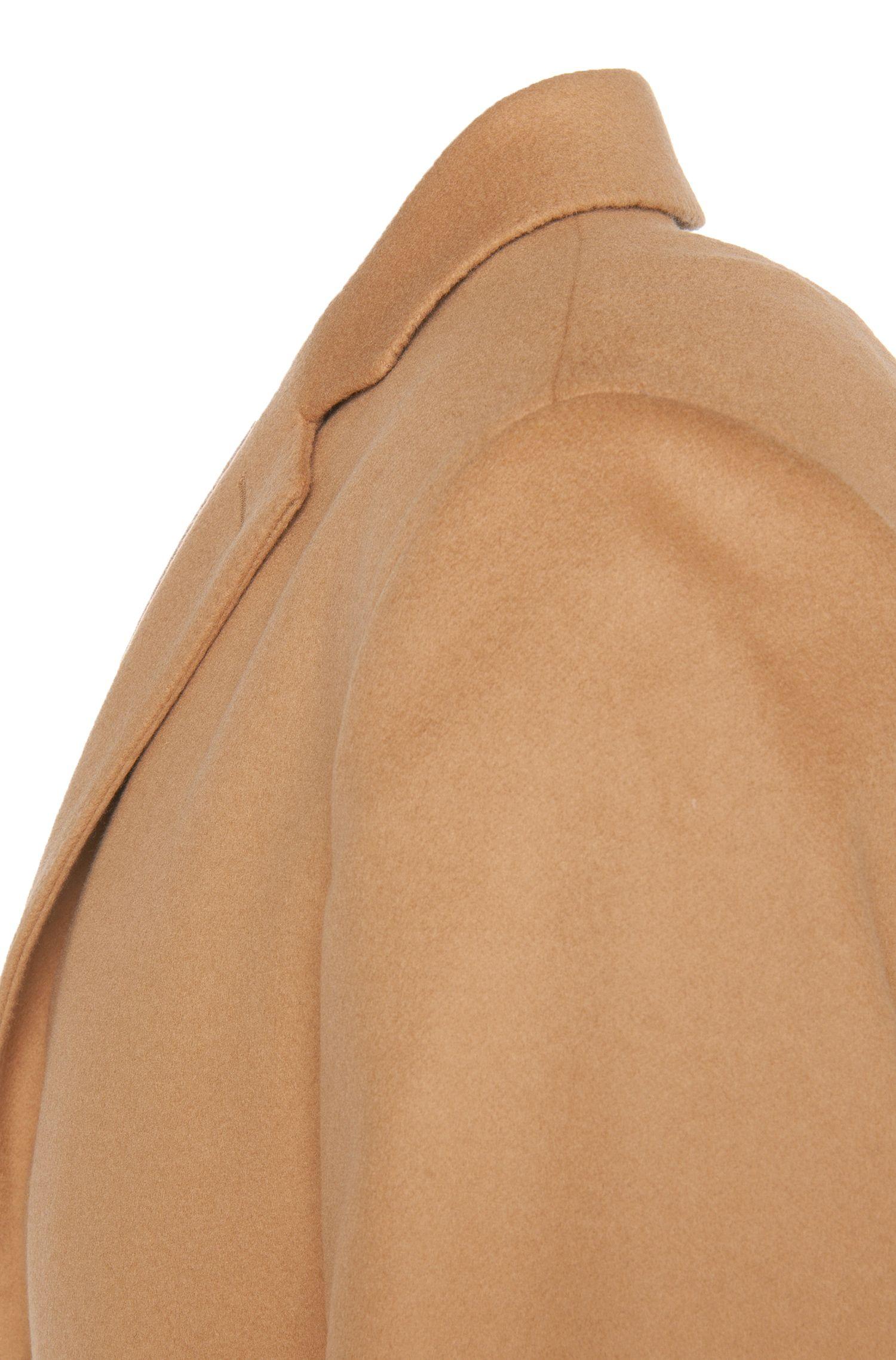 Manteau Regular Fit en mélange de cachemire et laine vierge: «C-Stratus»