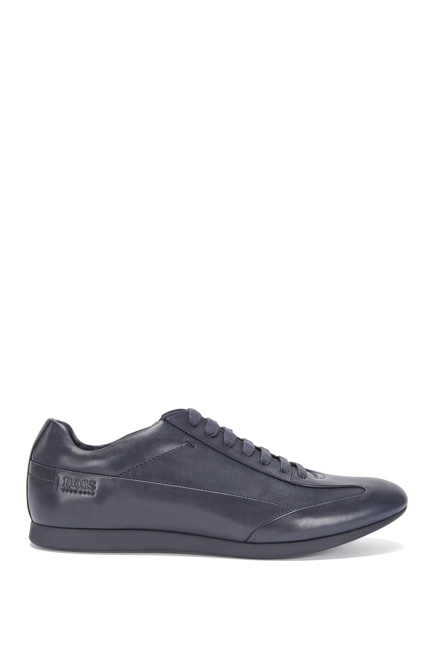 Smooth leather trainers: 'Fult'