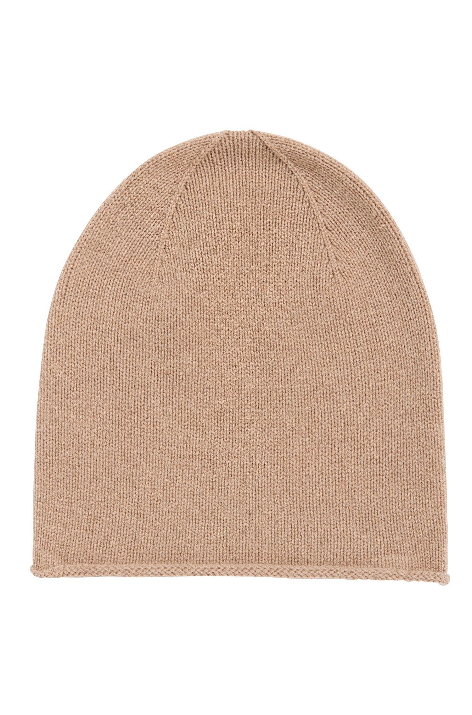 Mütze aus Schurwoll-Mix mit Yakwoll- und Kaschmir-Anteil: 'Zarota'