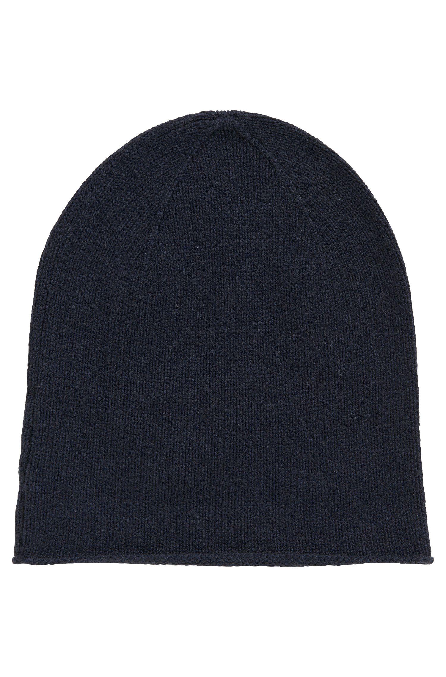 Bonnet en laine vierge mélangée: «Zarota»