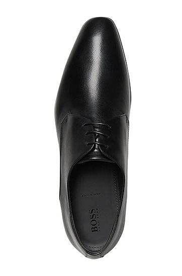 Schnürschuhe aus Leder: 'Urbat', Schwarz