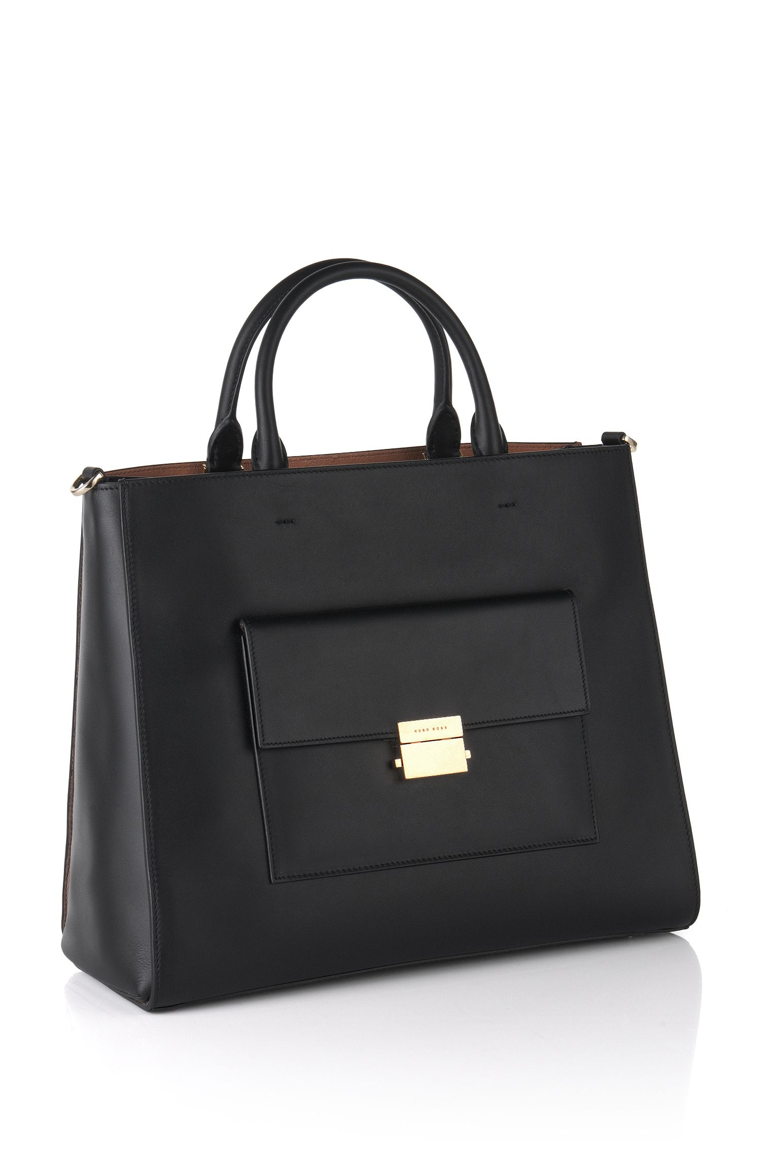 Leather handbag: 'Munich Tote'