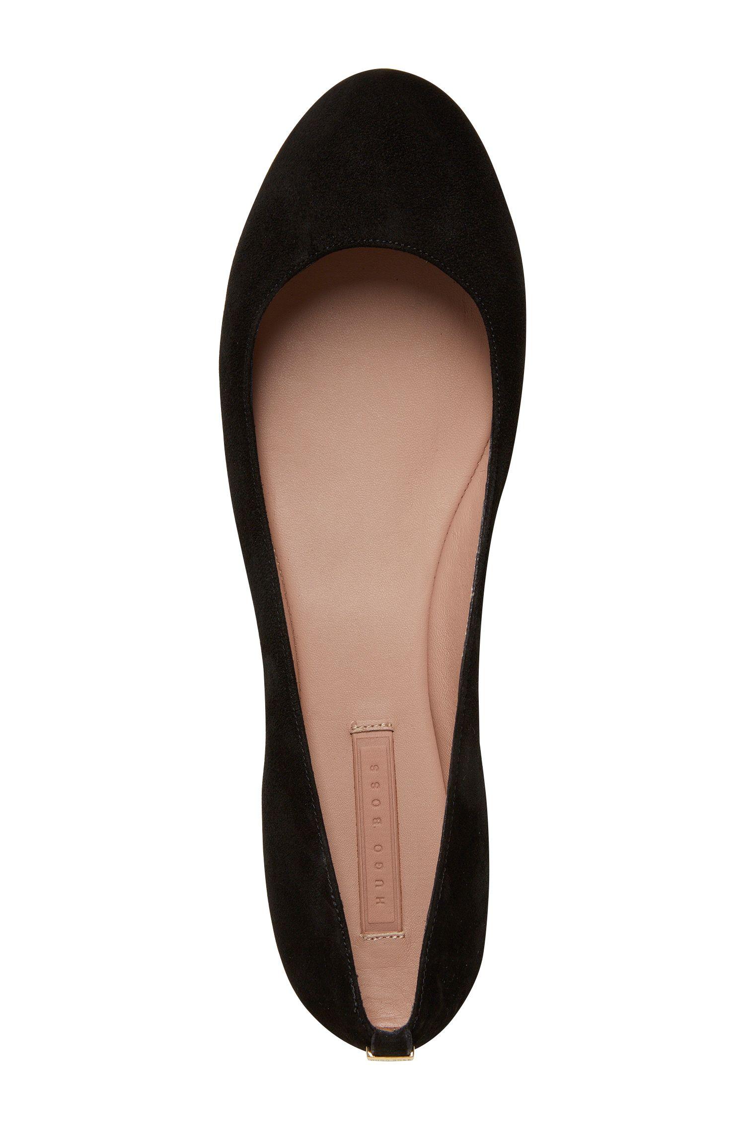 Chaussures plates en cuir: «Staple Ballerina-S»