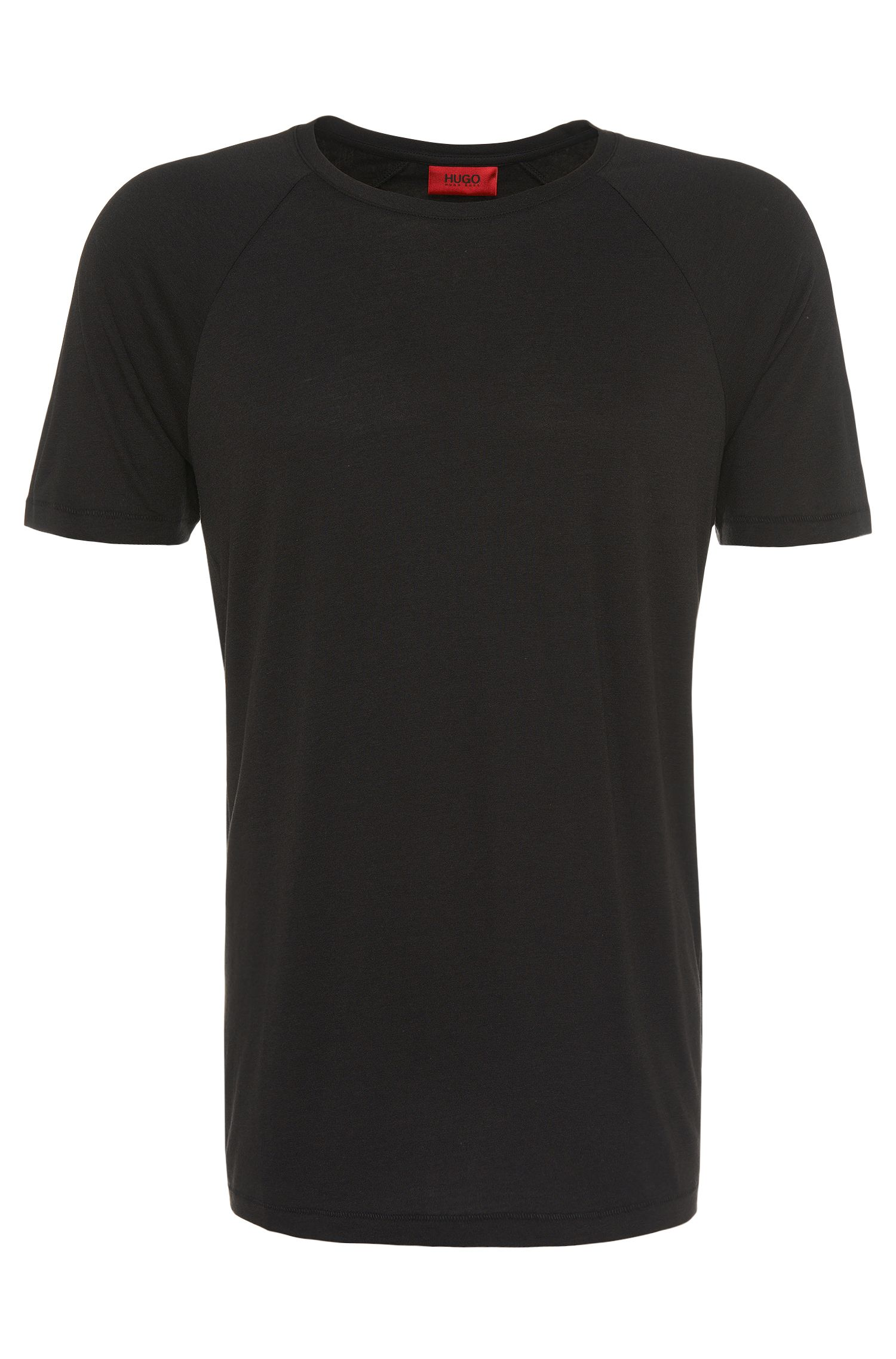 Regular-Fit T-Shirt aus Baumwoll-Mix: 'Drapo'