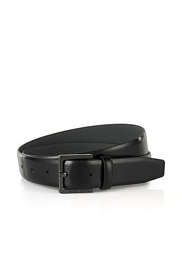 皮质腰带'Cyngos',  001_黑色