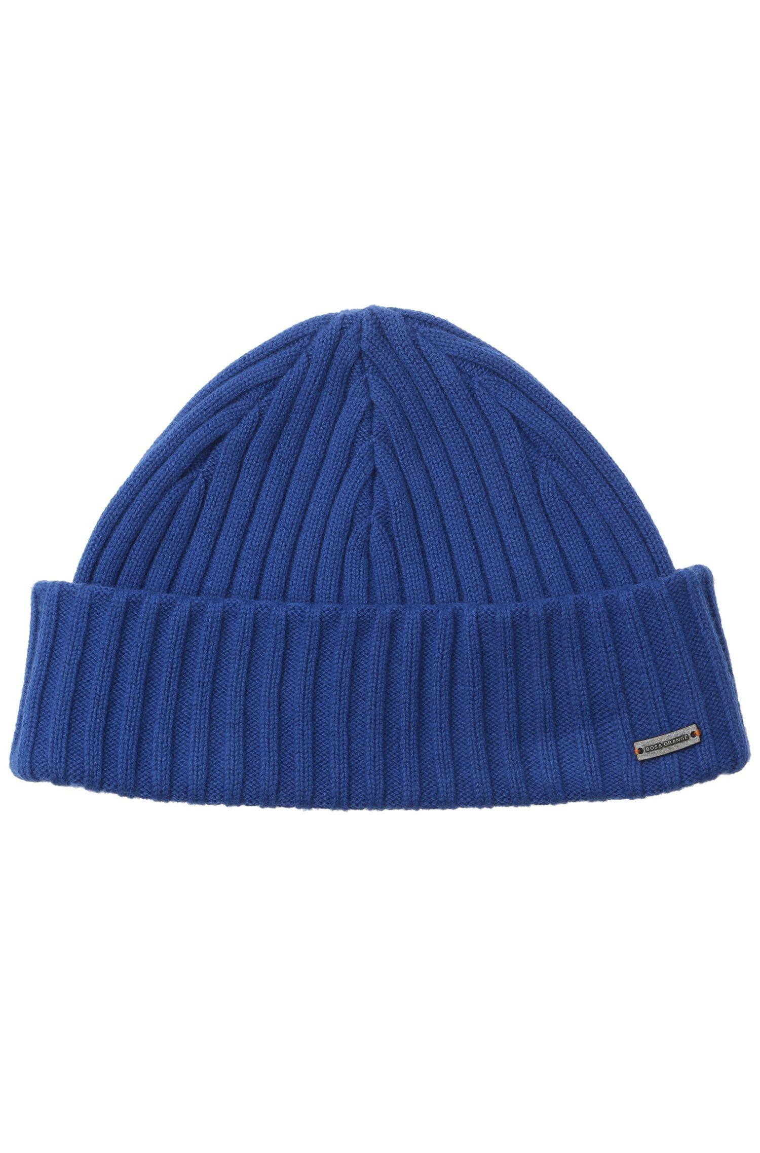 Mütze ´Araffon` aus Rippstrick