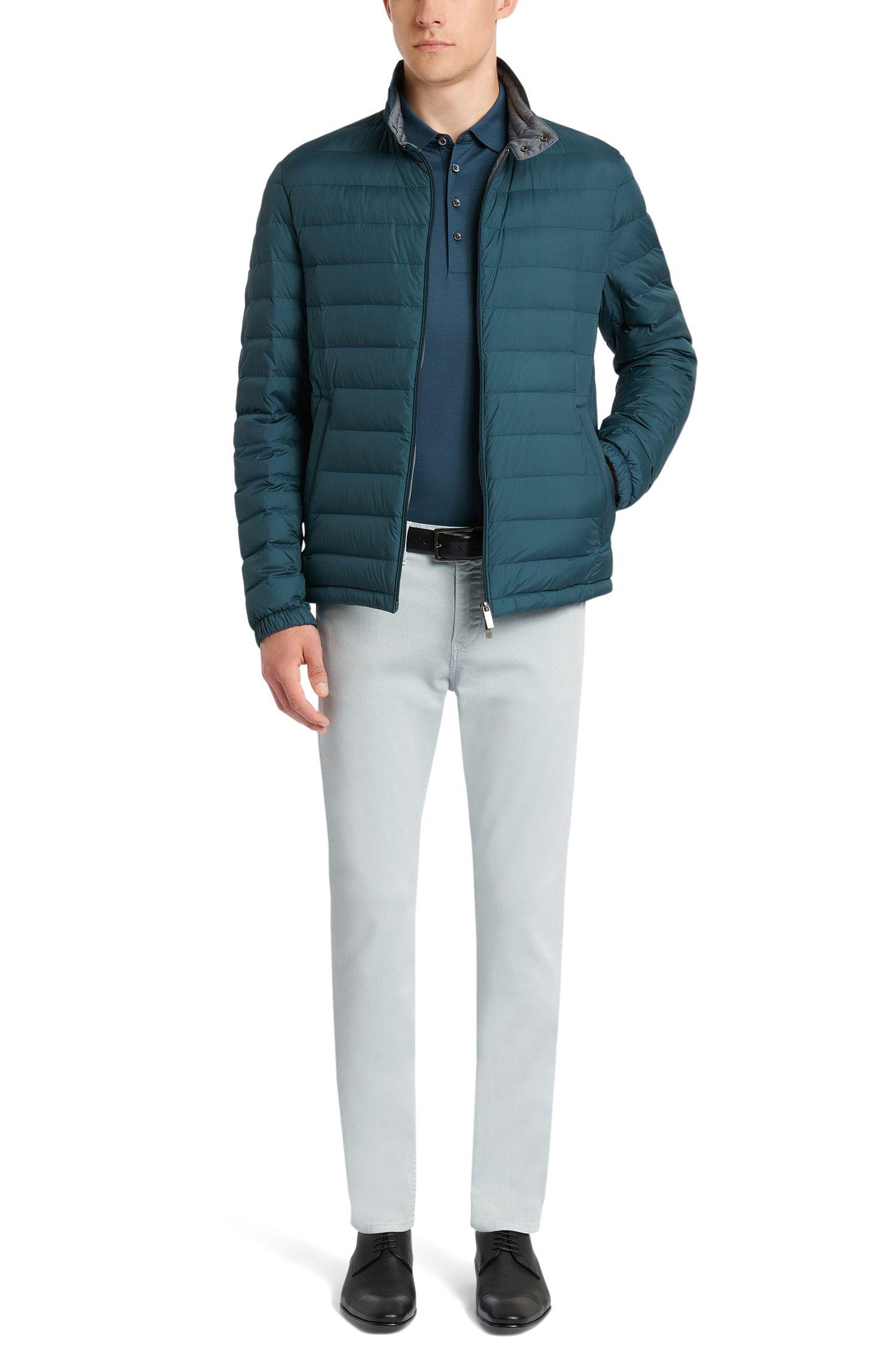 Unifarbenes Poloshirt aus reiner Baumwolle: 'Pack'