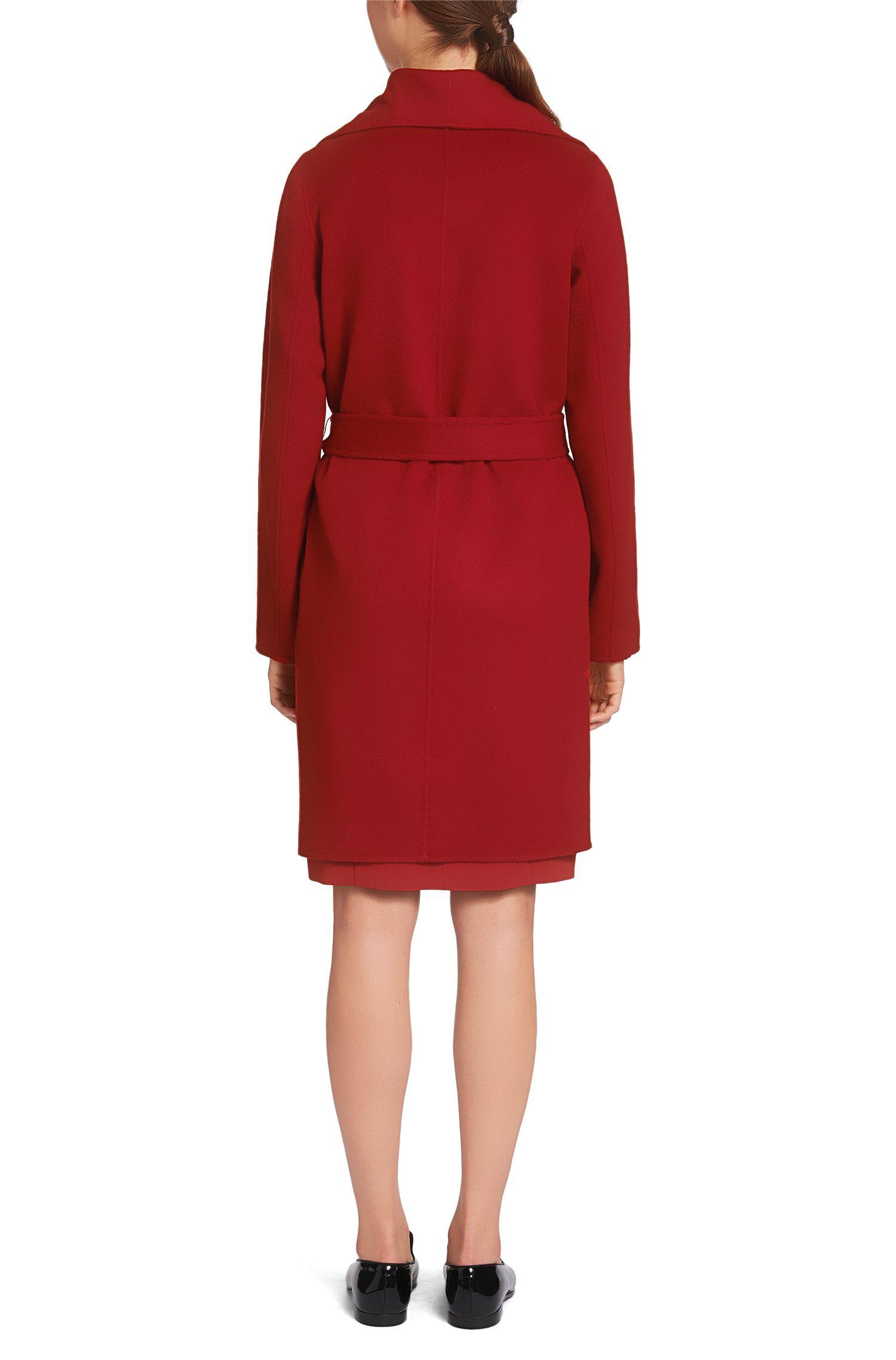Manteau réversible en laine mélangée à du cachemire: «Catifa»