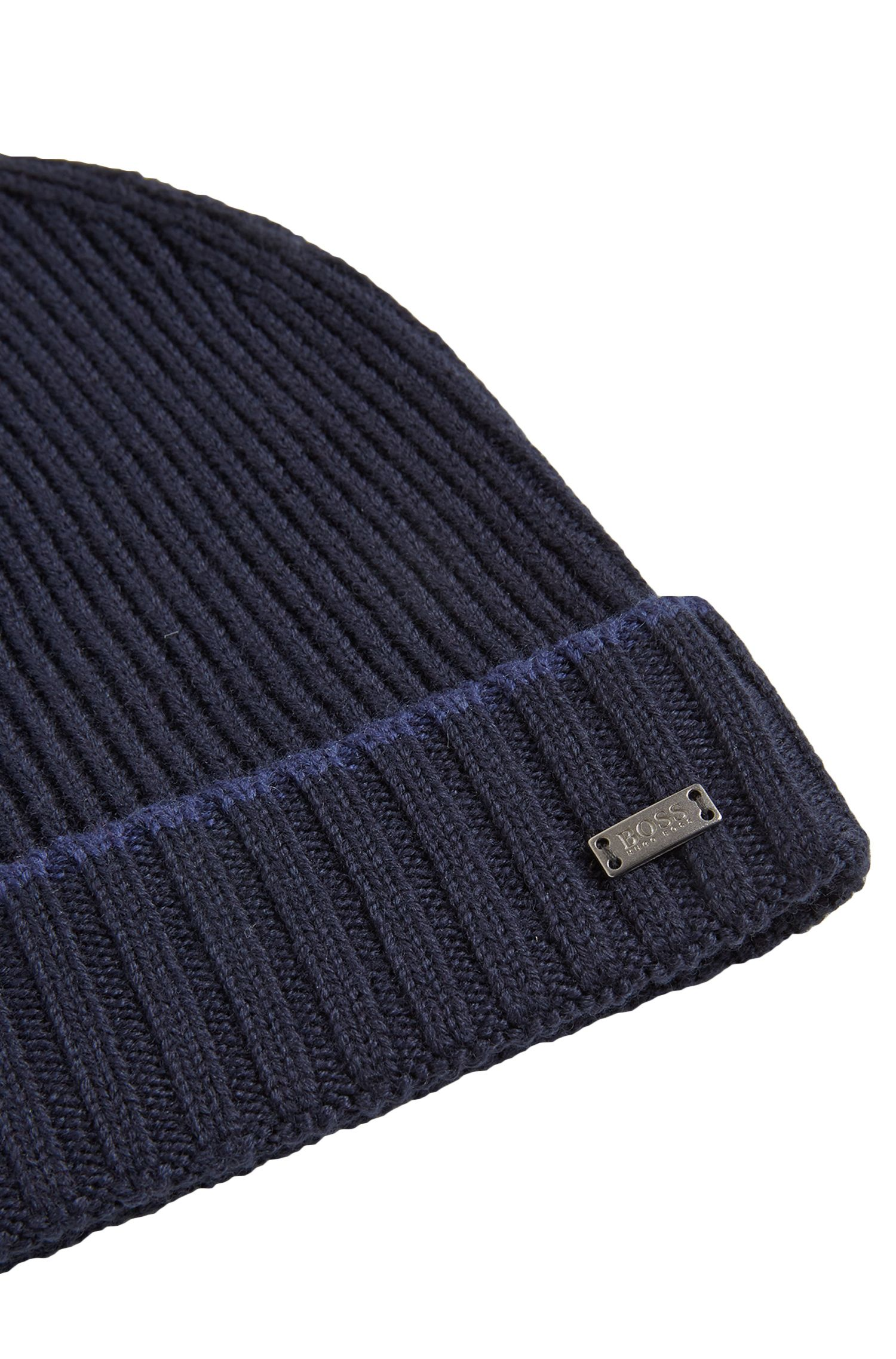 Ensemble bonnet et écharpe en pure laine: «Farios-Set»