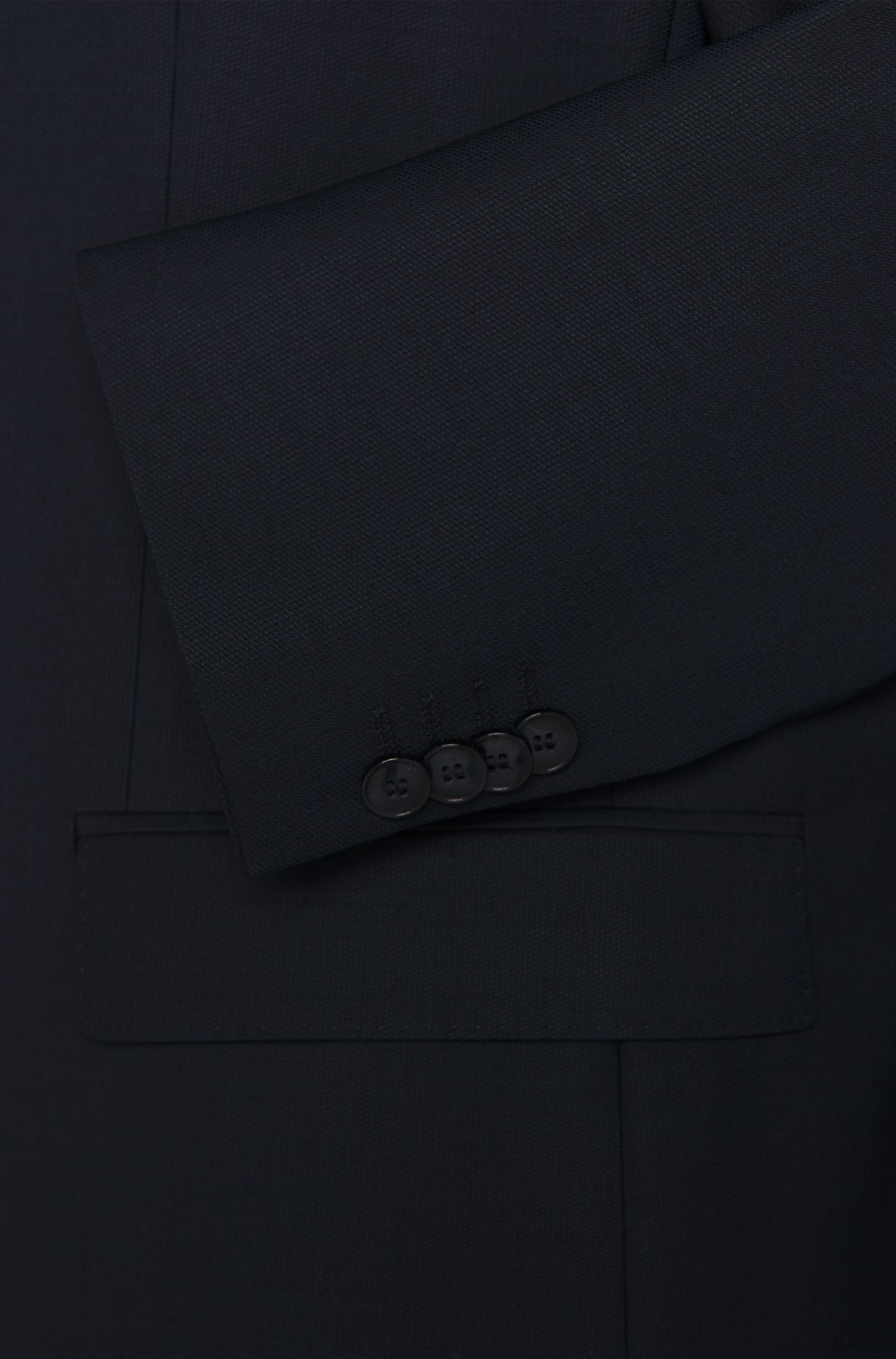 Regular-fit colbert van zuivere scheerwol: 'C-James1S'