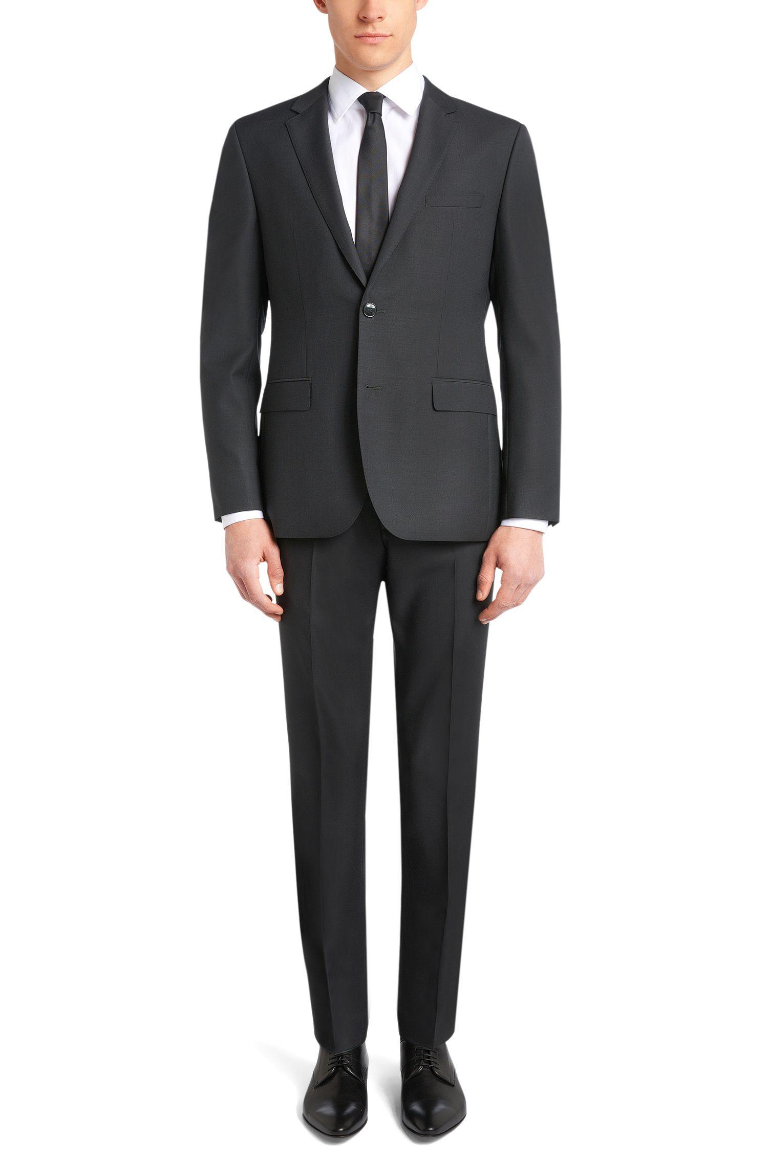 Slim-Fit Hose aus reiner Schurwolle: 'C-Sharp1S'