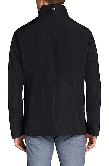 Unifarbene Jacke mit großen Taschen: 'Calasso1', Dunkelblau