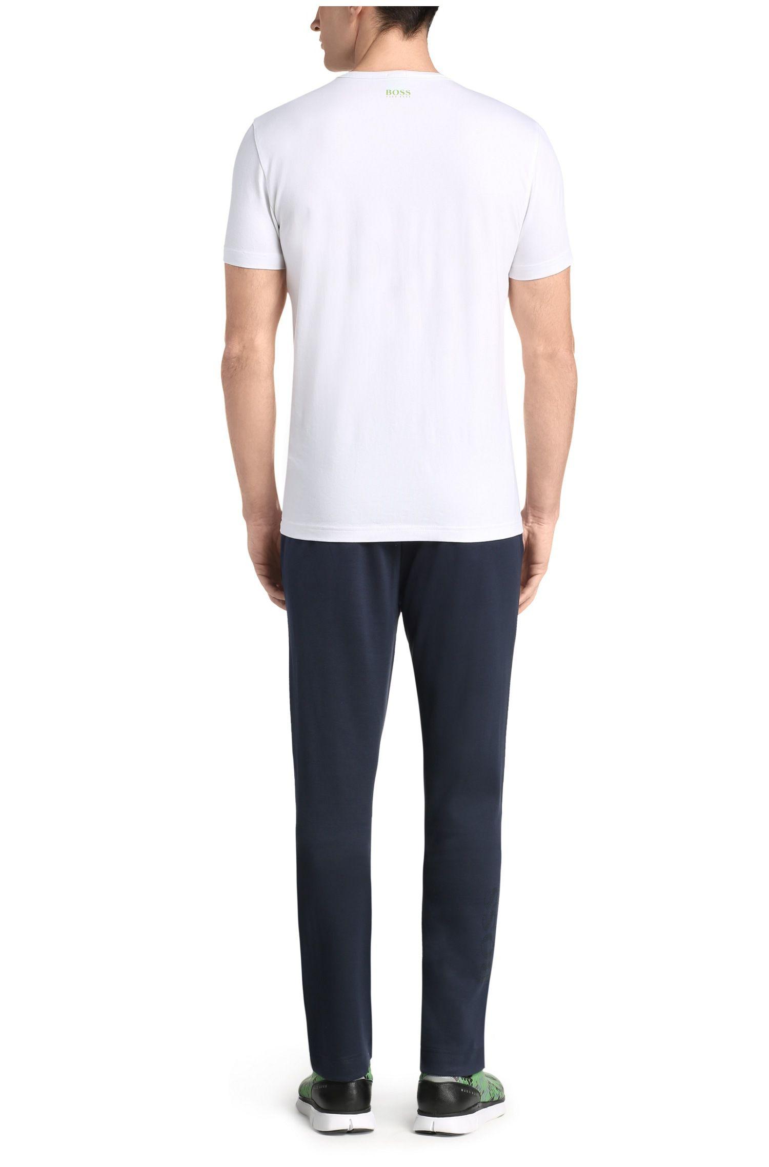 Pantalon de jogging en coton mélangé: «Hadim»