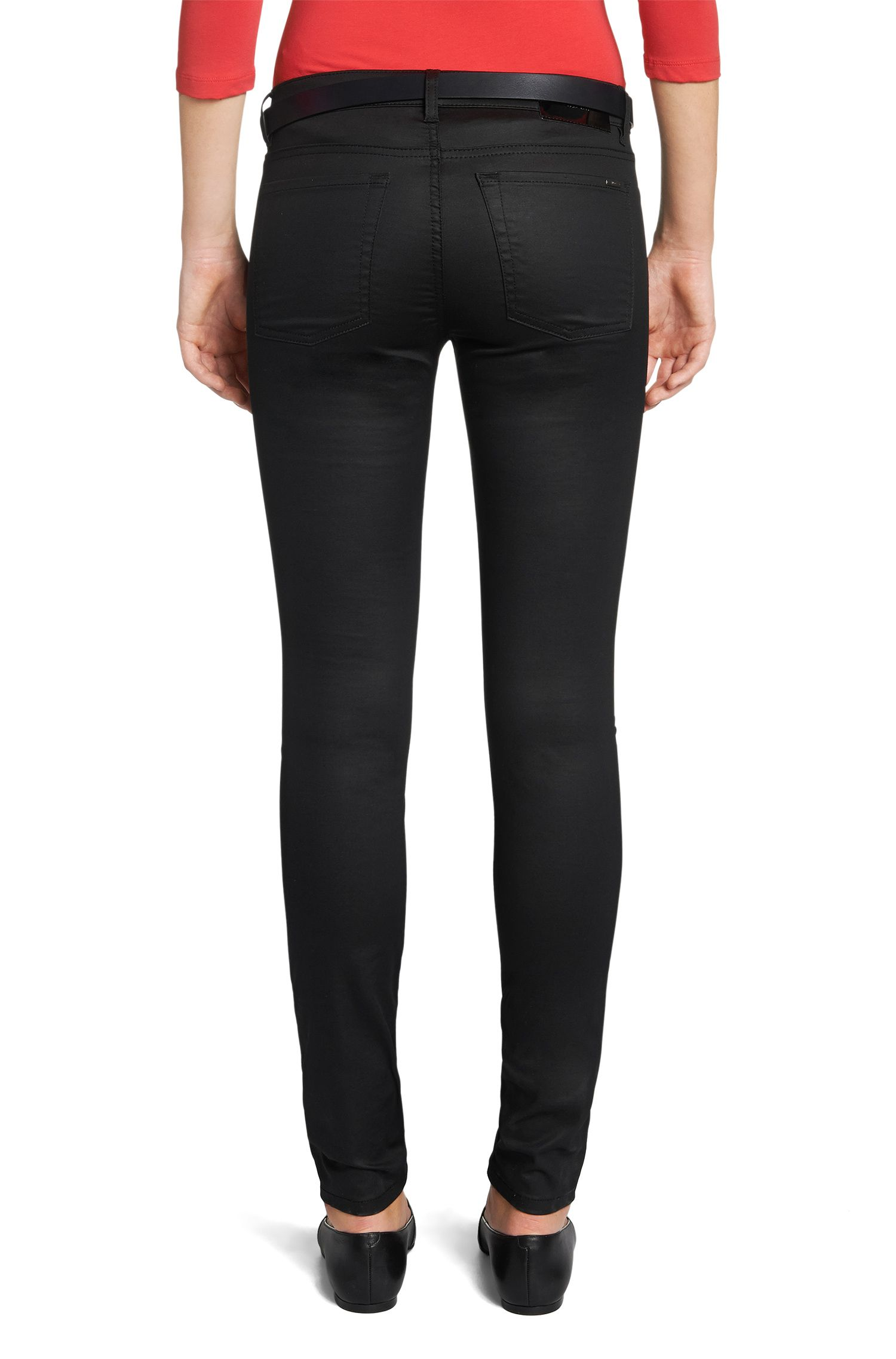Super Skinny-Fit Jeans aus Baumwoll-Mix: 'Georgina'