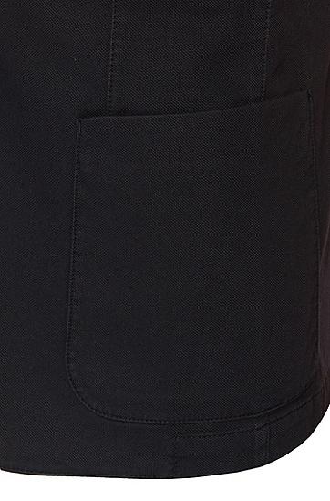 Slim-Fit Sakko aus Stretch-Baumwolle: 'Marcoz16-D', Dunkelblau