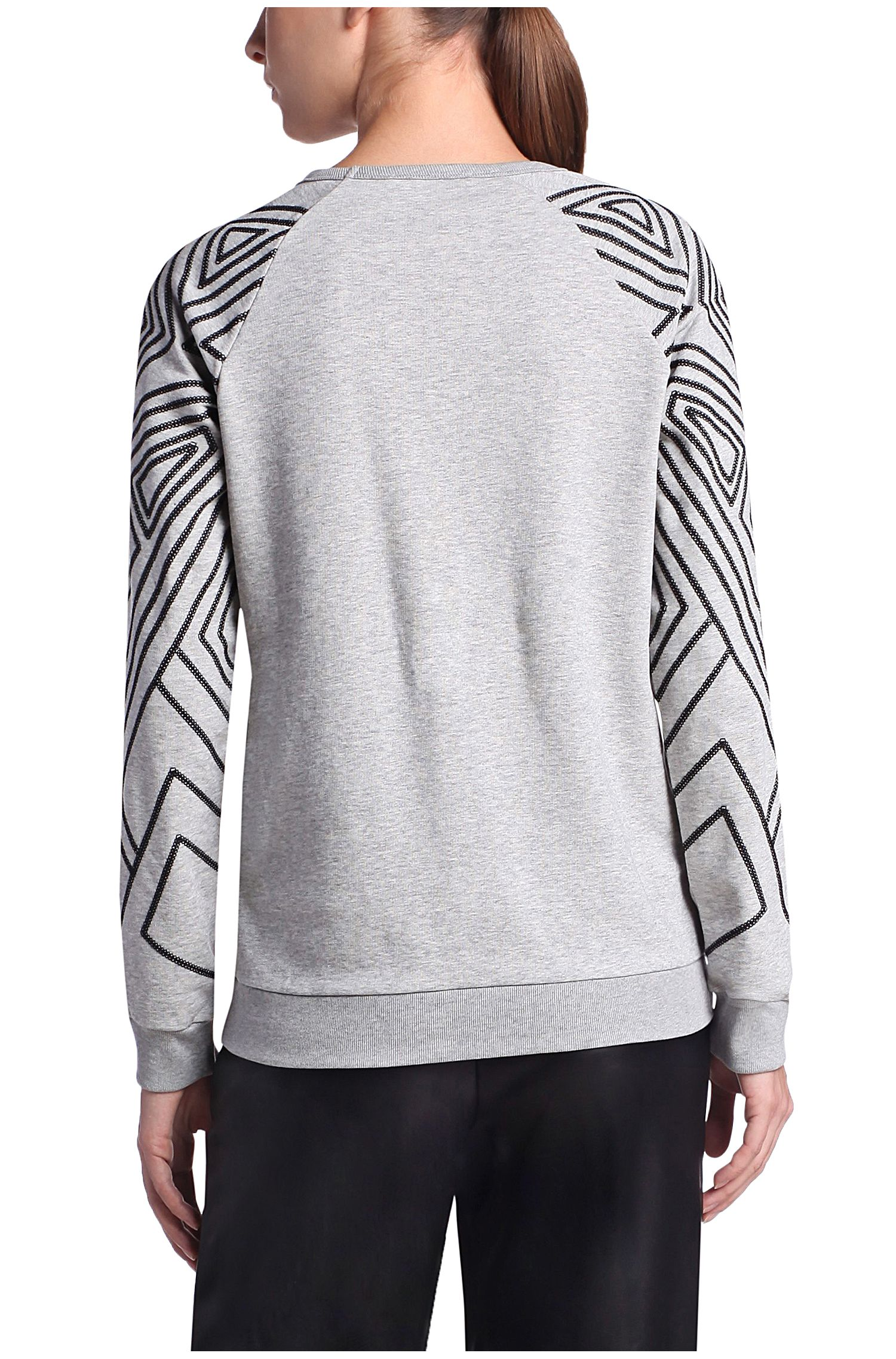 Dekorierter Regular-Fit Sweater: ´Ticonic`