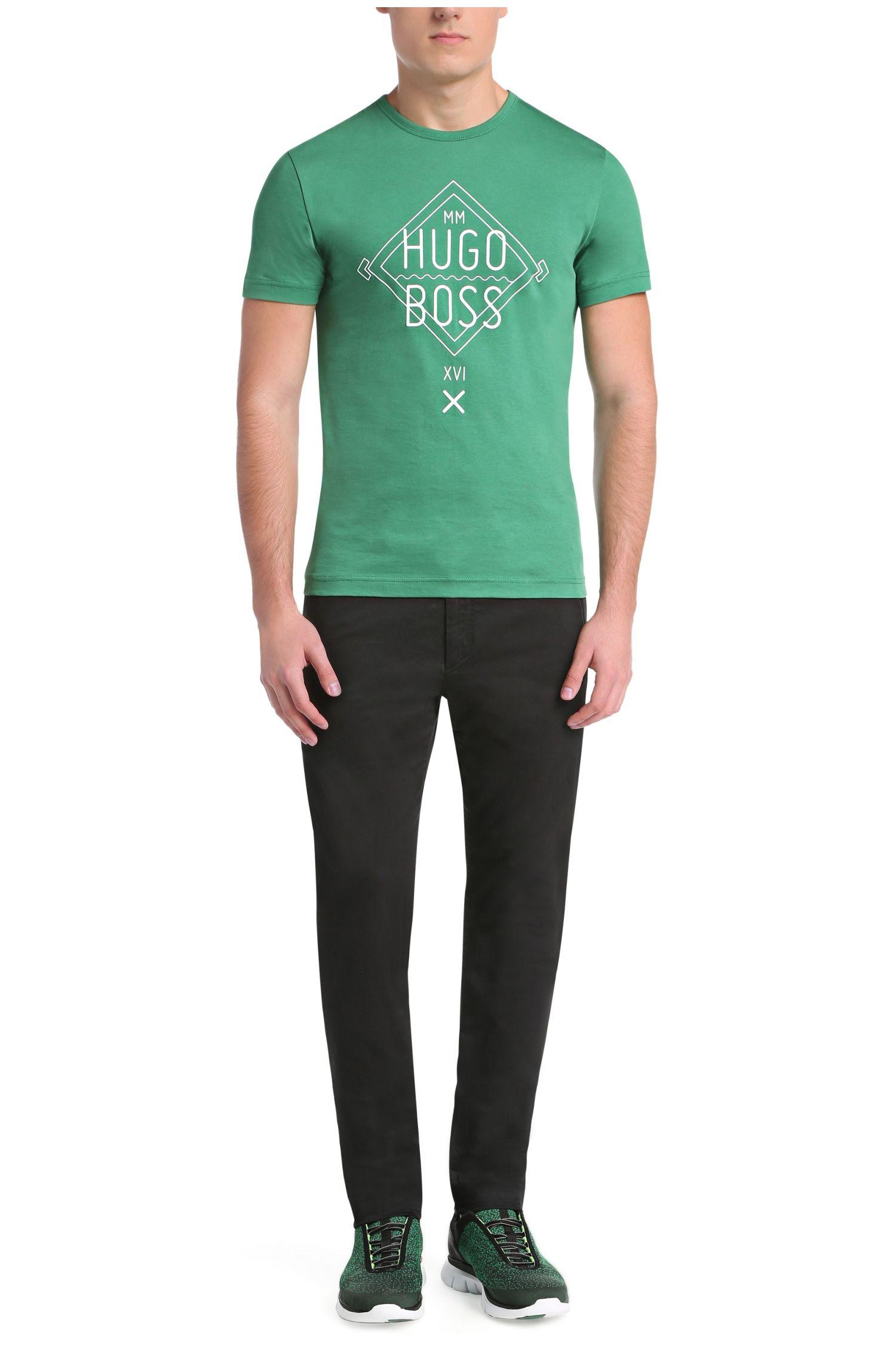 T-shirt en coton à logo imprimé: «Tee1»