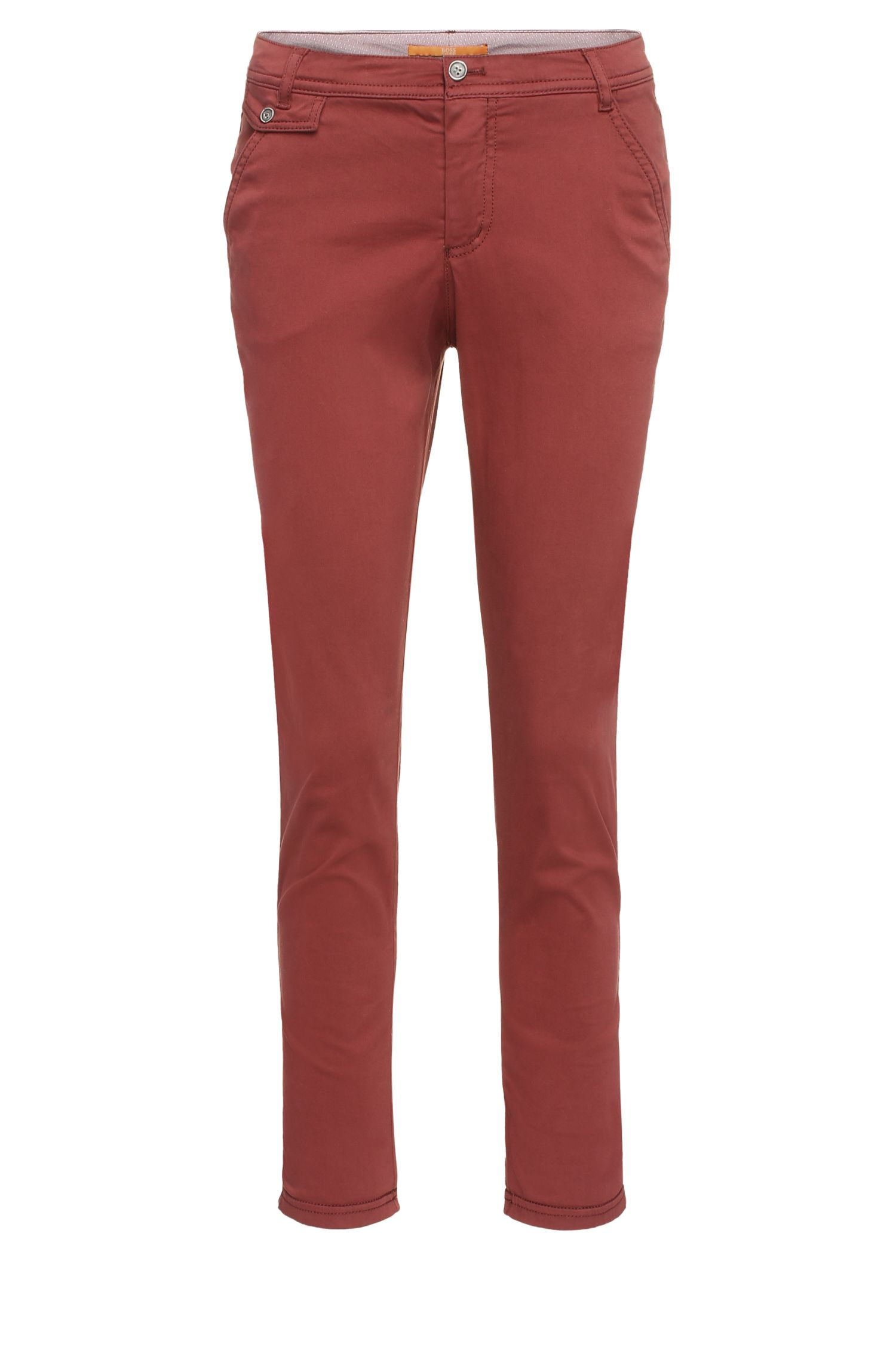 Chino Relaxed Fit en coton stretch : « Sochini-D »