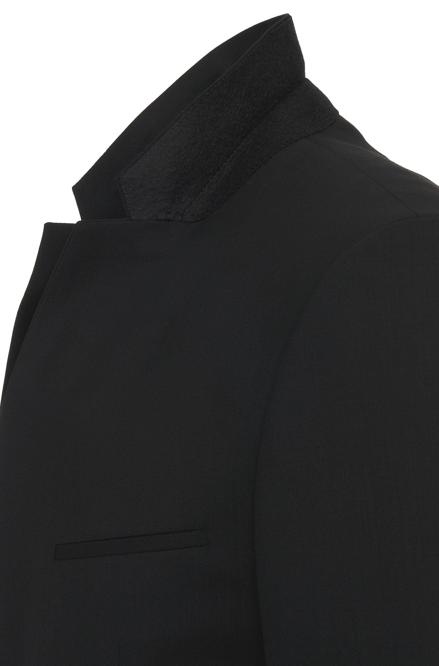 Veste de costume Extra Slim Fit en laine vierge stretch: «AddyS»