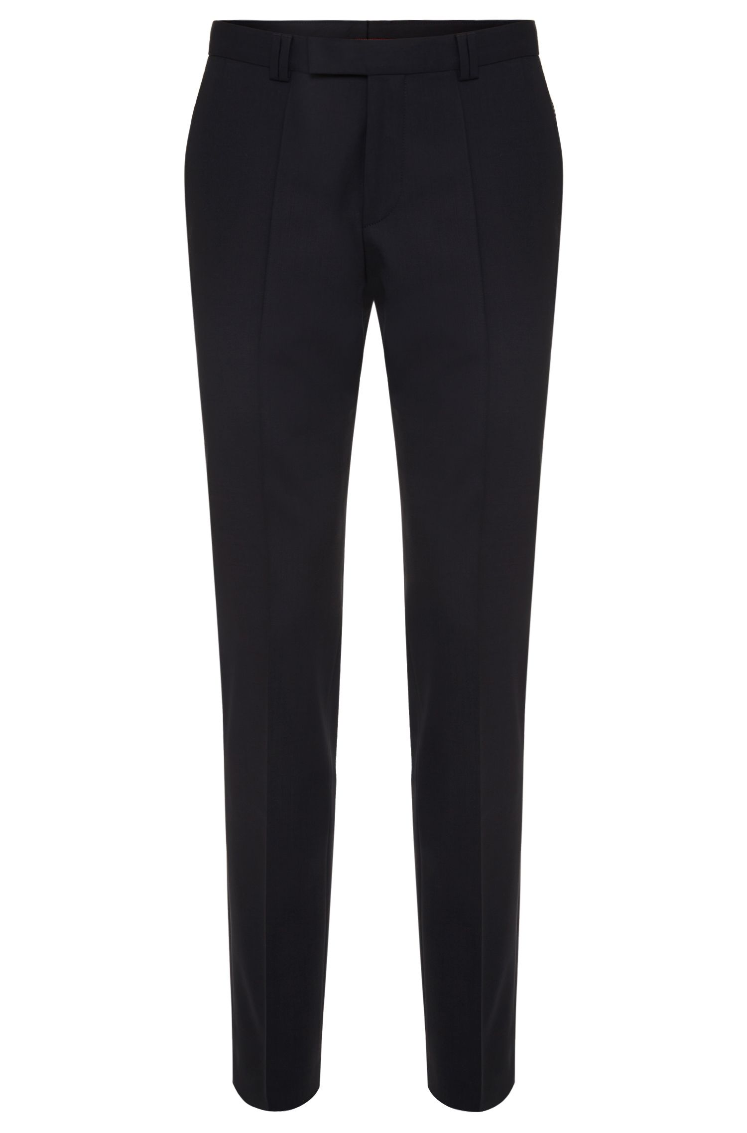 Pantalon extra Slim Fit en laine vierge à teneur en stretch : « HopeS »