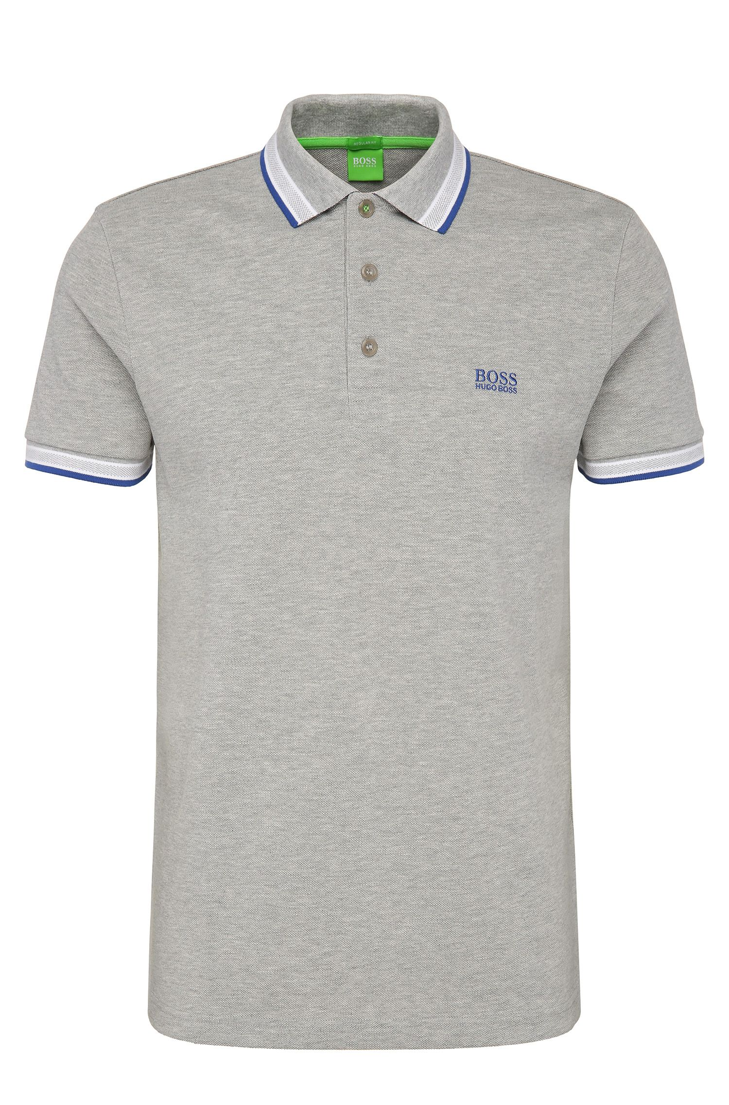 Regular-Fit Poloshirt aus Baumwoll-Piqué von BOSS Green