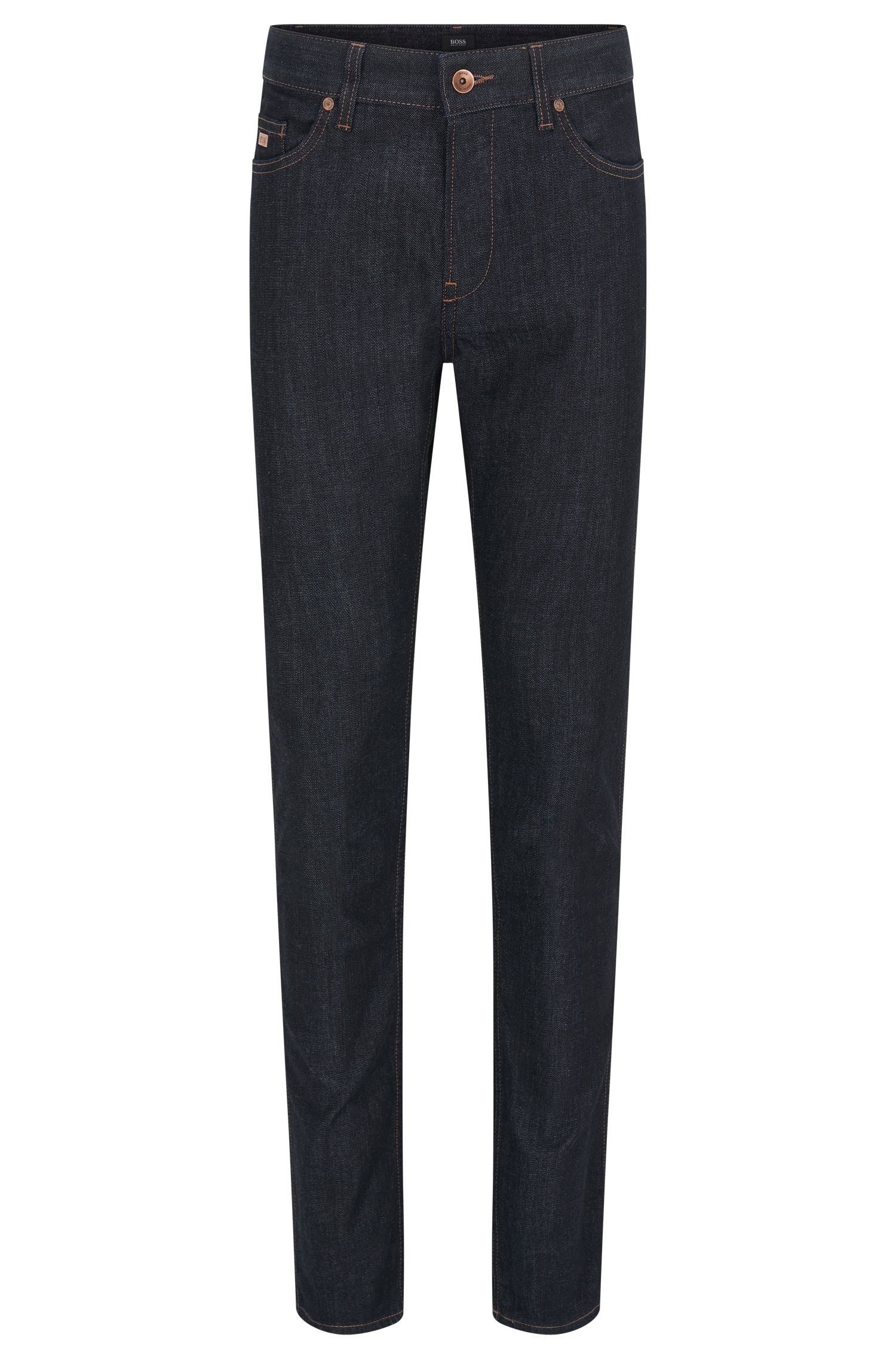 Slim-fit jeans in stretch cotton: 'Delaware3'