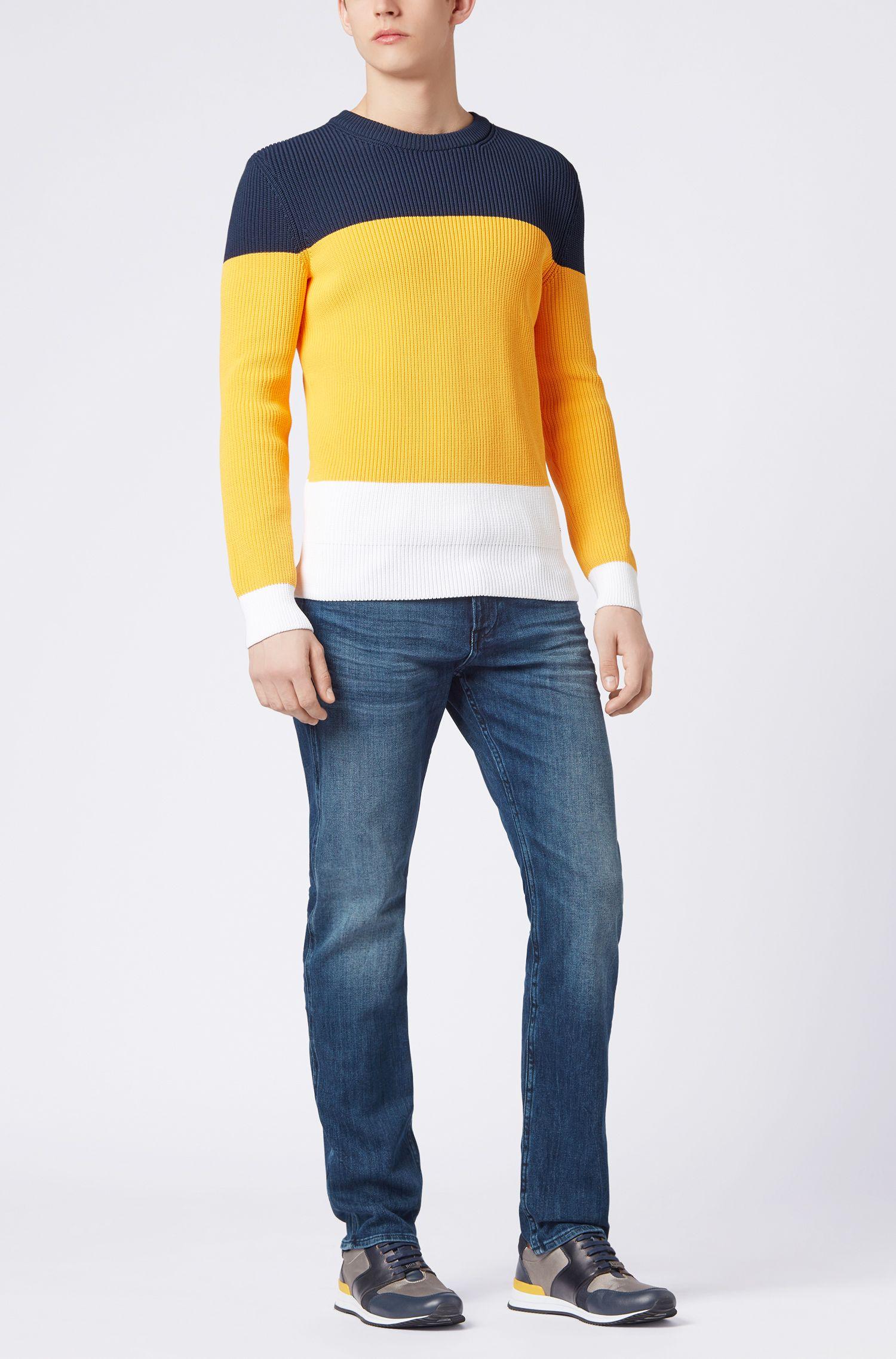 Slim-Fit Jeans aus Stretch-Baumwolle in Used-Optik: 'Delaware3'
