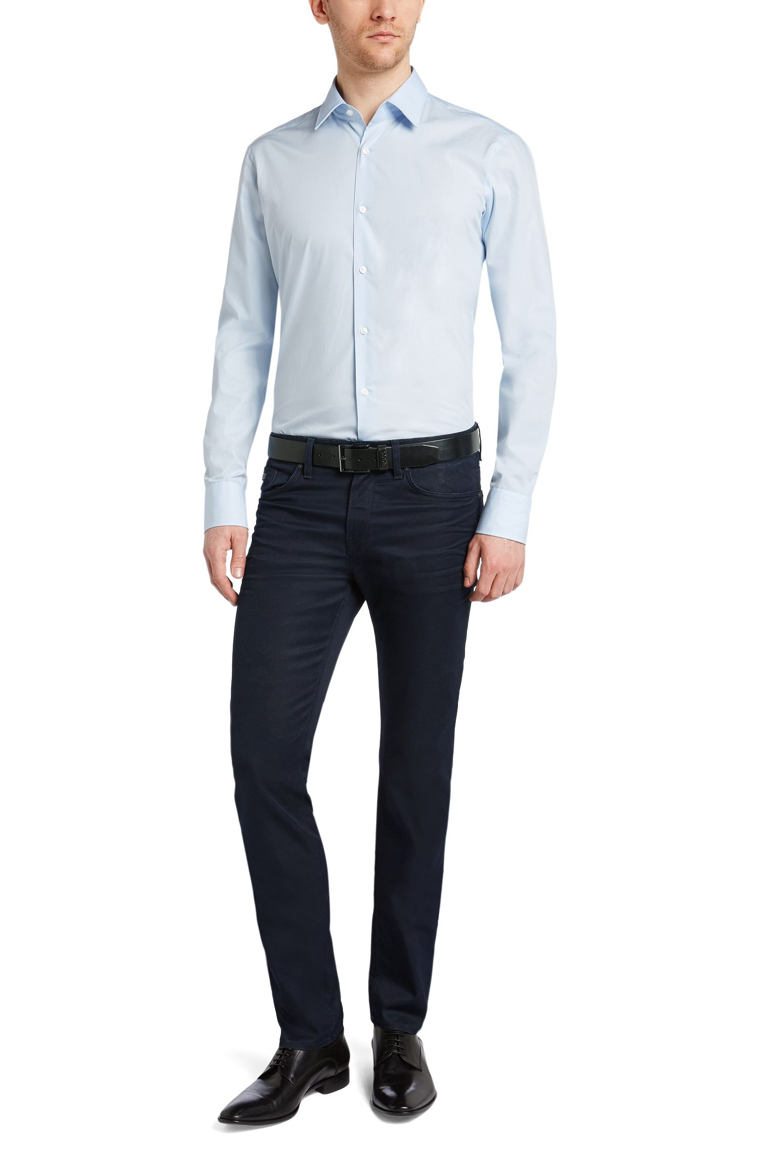 Slim-Fit Jeans aus Baumwoll-Mix: 'Delaware3'