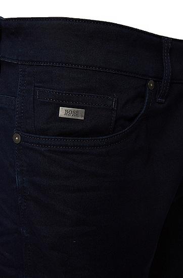 Slim-Fit Jeans aus Baumwoll-Mix: 'Delaware3', Dunkelblau