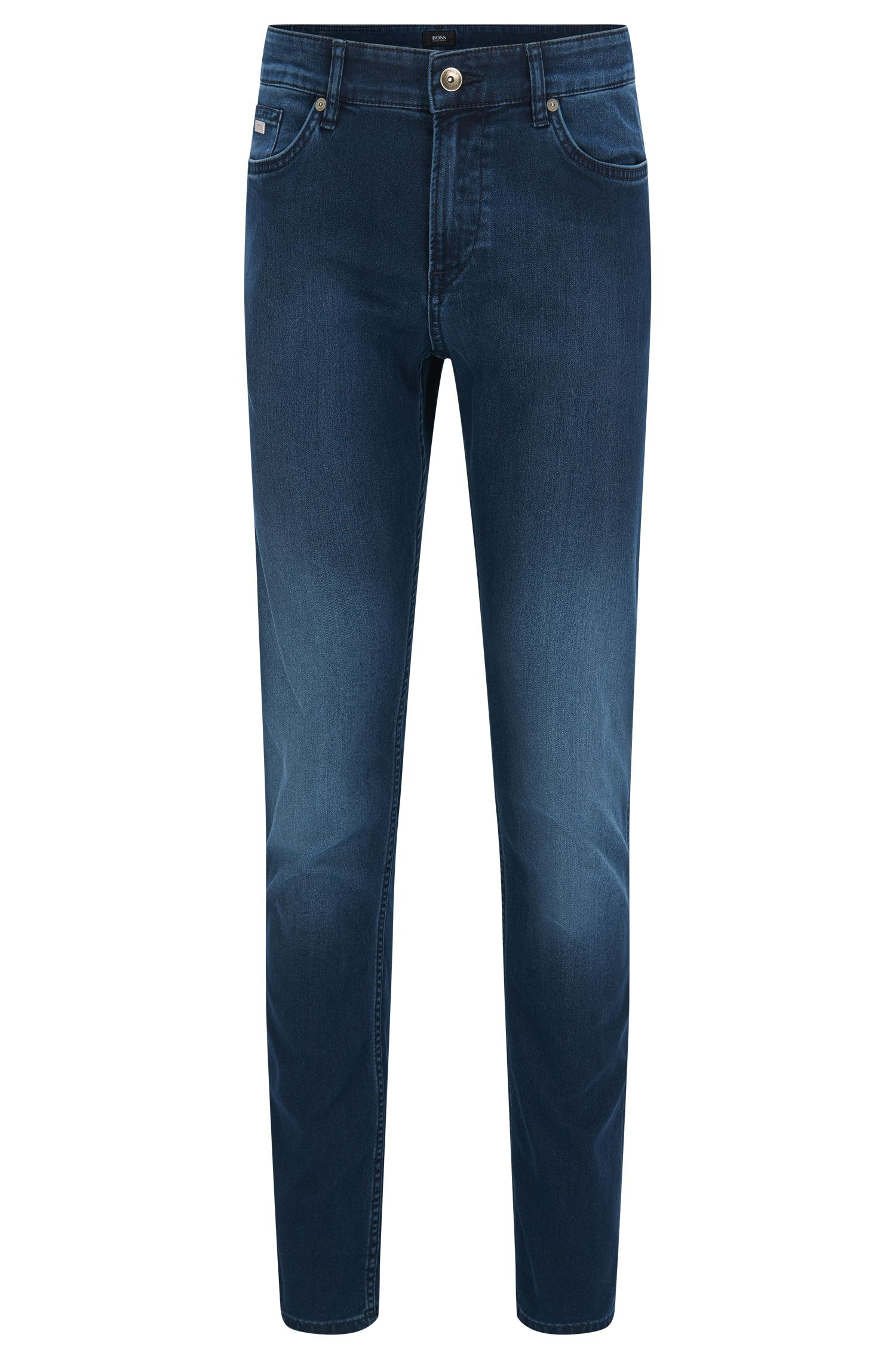 Slim-fit jeans in cotton blend: 'Delaware3'