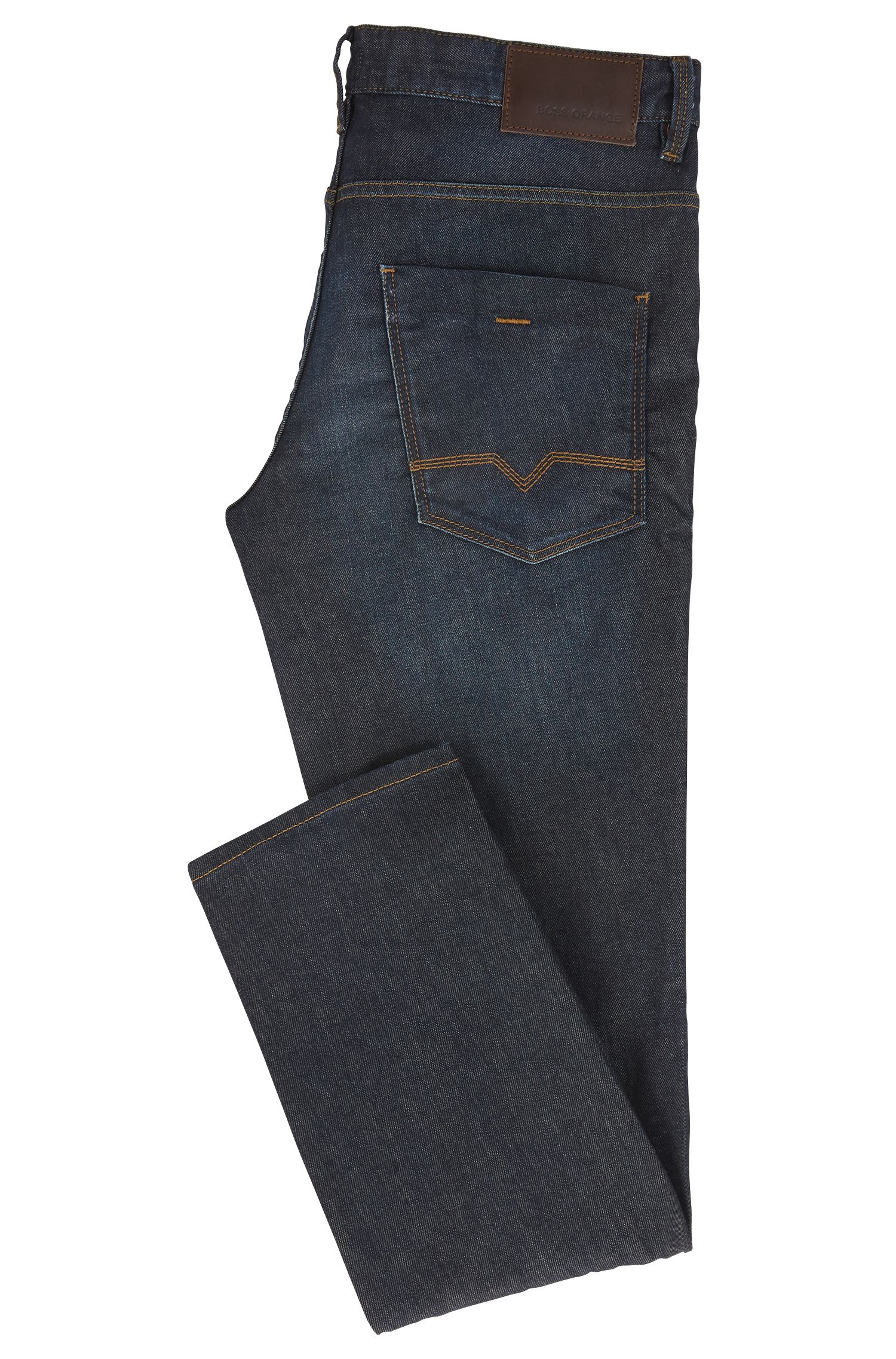 Slim-Fit Jeans aus elastischem Baumwoll-Mix: ´Orange63`