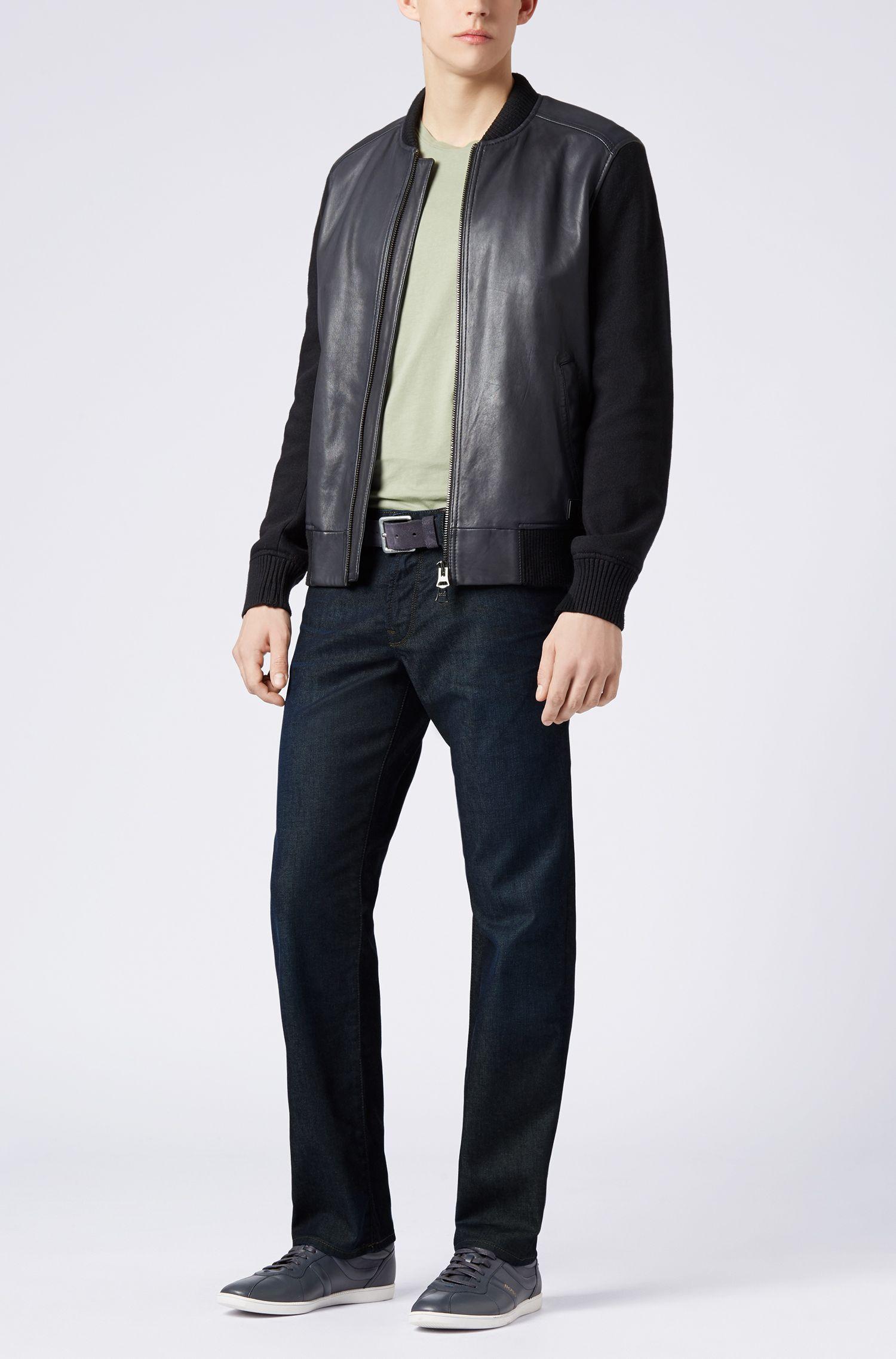 Regular-Fit Jeans aus Baumwoll-Mix mit Elasthan: ´Orange24 Barcelona`