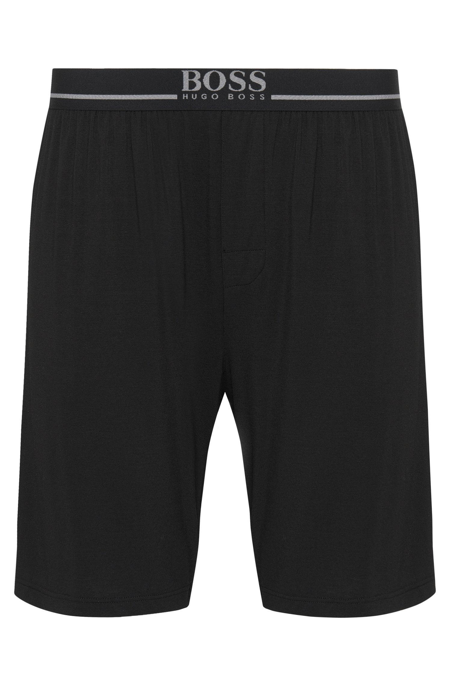 Shorts aus Stretch-Modal mit Elastikbund: 'Short Pant EW'