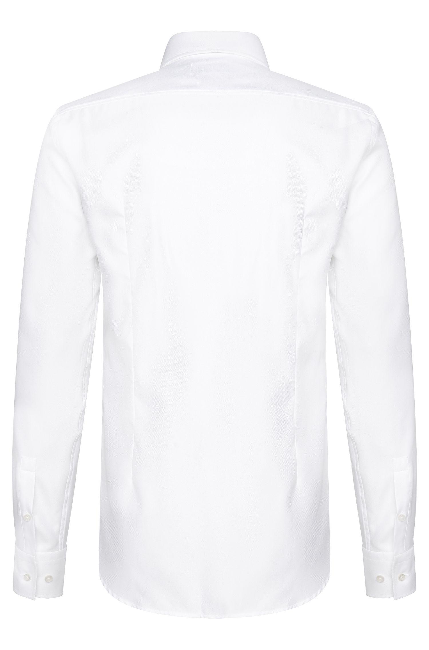 Slim-fit overhemd van katoen: 'Jason'