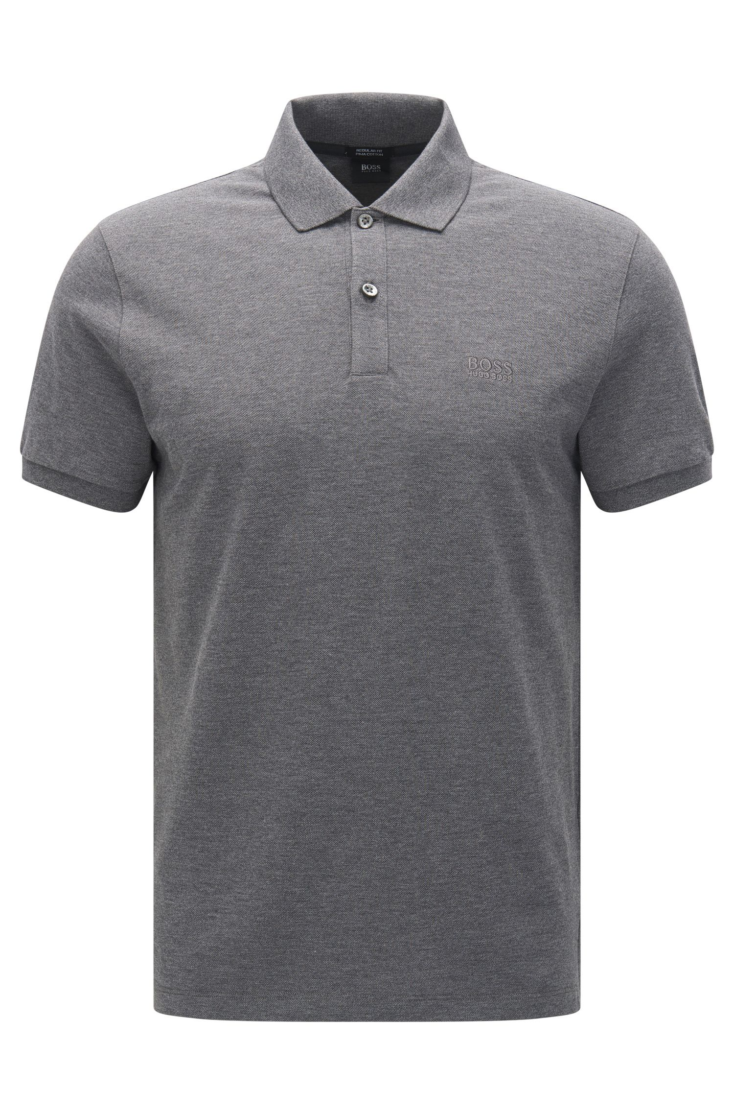 Regular-Fit Poloshirt aus Baumwolle: 'Pallas'