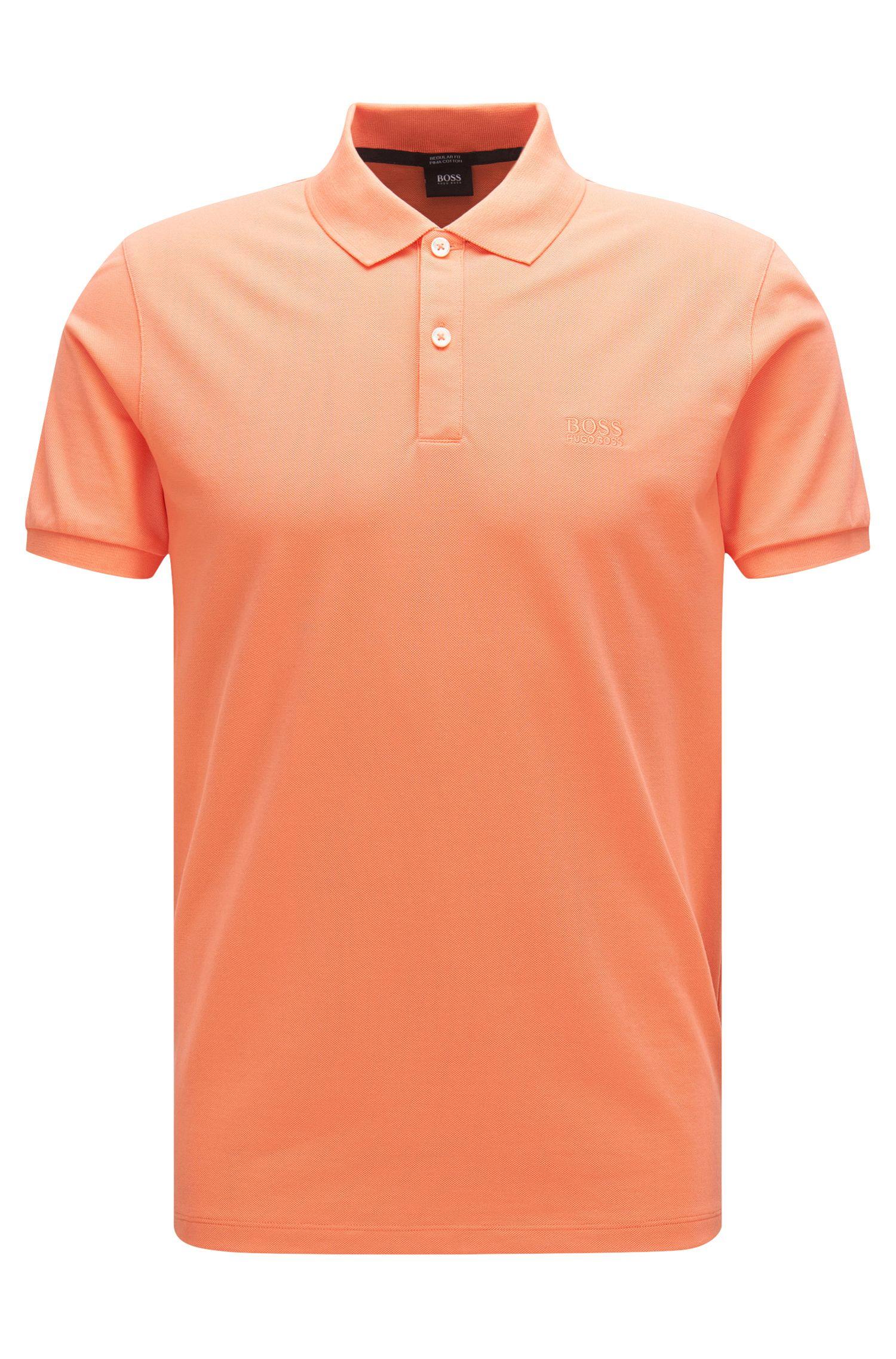 Regular-Fit Poloshirt aus feinem Piqué von BOSS Menswear