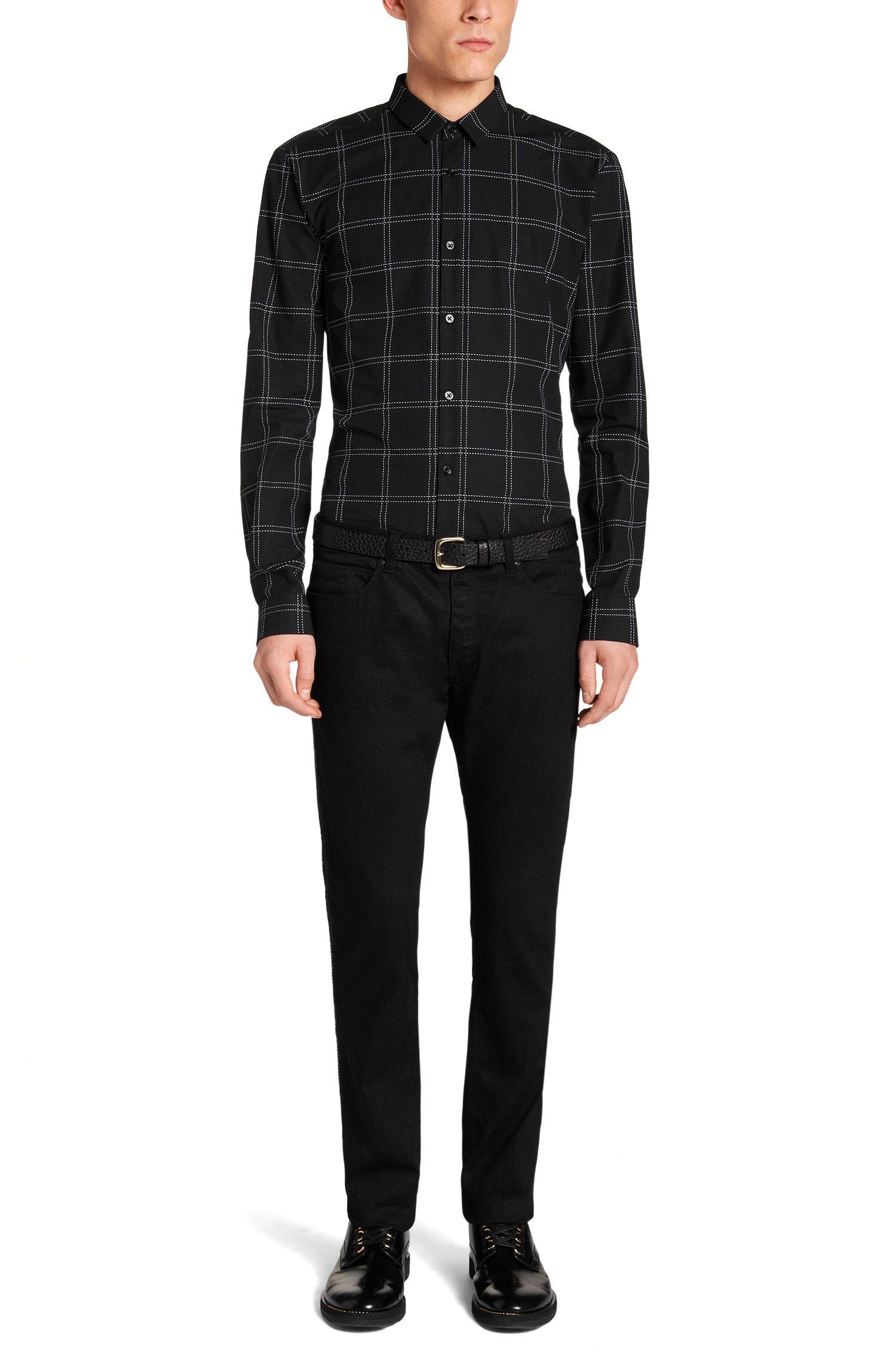 Skinny-Fit Jeans aus Stretch-Baumwolle: 'HUGO 734/27'