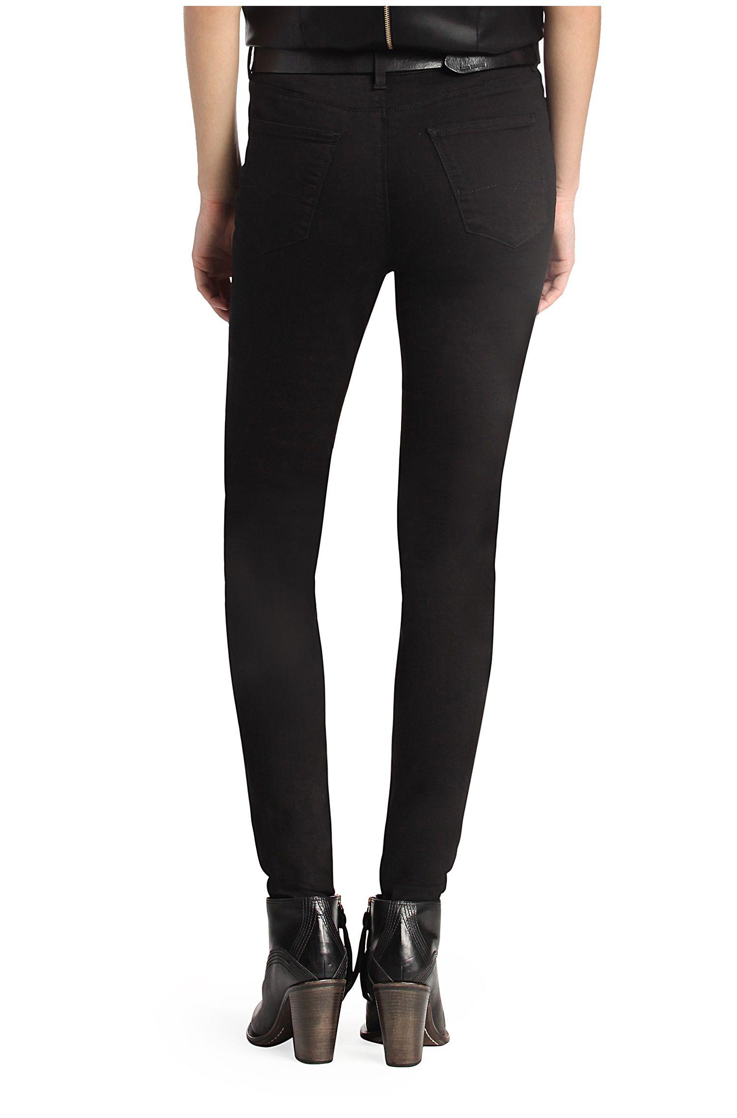 Jeans Slim Fit en coton mélangé: «Orange J11»