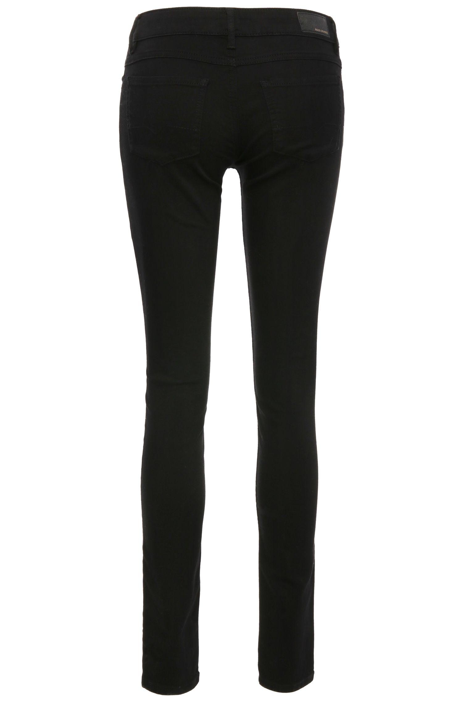 Slim-Fit Jeans aus elastischem Baumwoll-Mix: ´Orange J20`