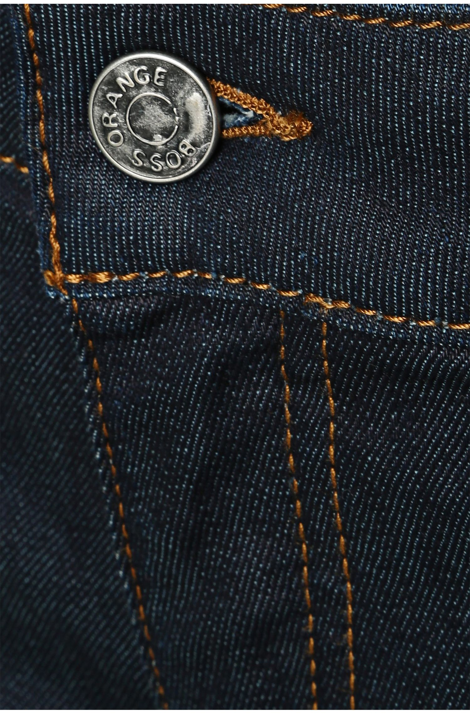 Jeans Slim Fit en coton mélangé extensible : « Orange J20 »