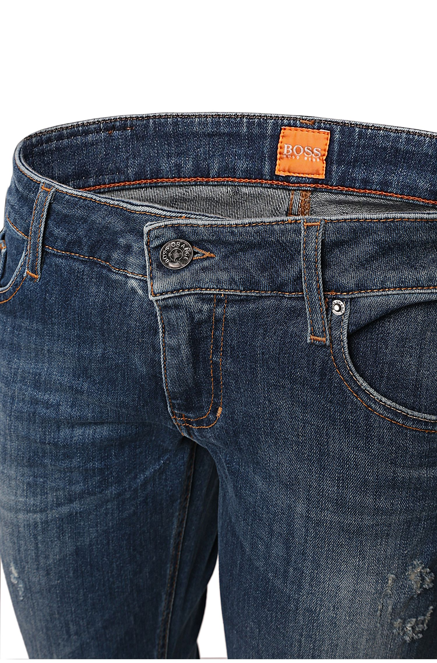 Slim-Fit Jeans aus Powerstretch-Denim: ´Orange J20`