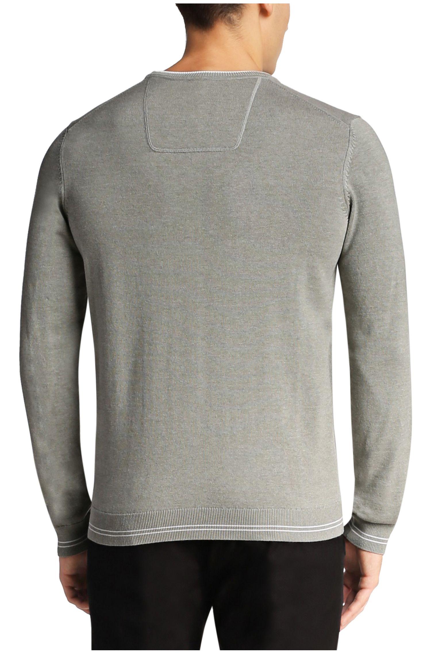 Gebreide trui van een katoenmix: 'Rime_PS16'